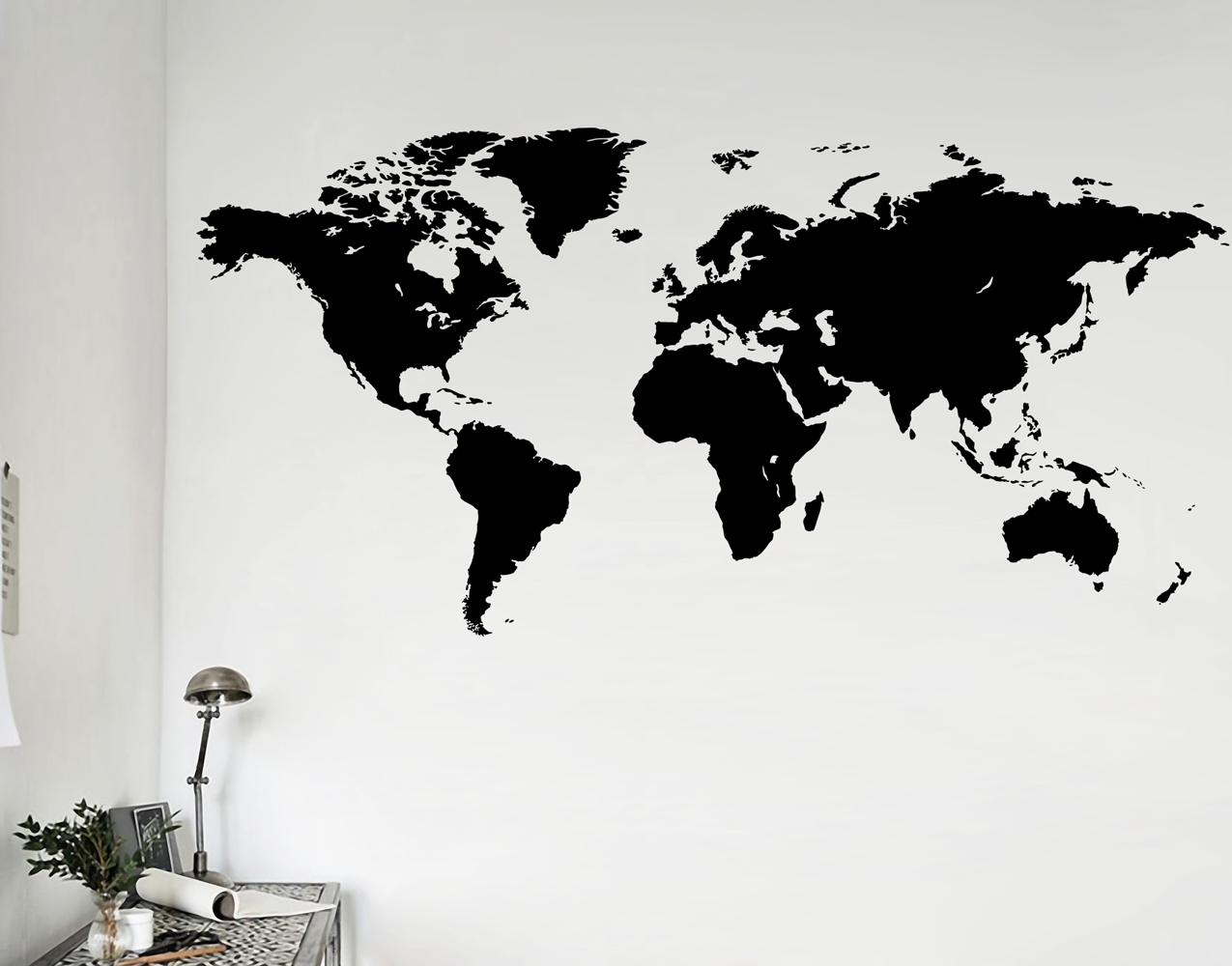 World Map – Your Decal Shop | Nz Designer Wall Art Decals | Wall Pertaining To Most Recently Released Wall Art Stickers World Map (Gallery 4 of 20)