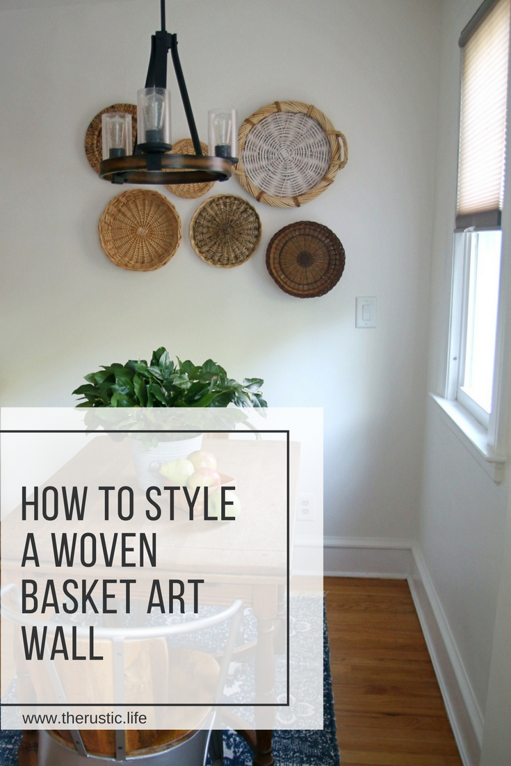 Woven Basket Art Wall – How To Style One With Regard To Most Up To Date Woven Basket Wall Art (Gallery 11 of 20)