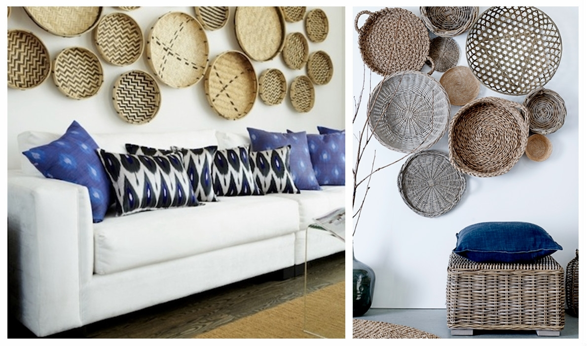 Woven Basket Wall Art Takuice – Decoratorist – #229651 For Most Up To Date Woven Basket Wall Art (View 4 of 20)