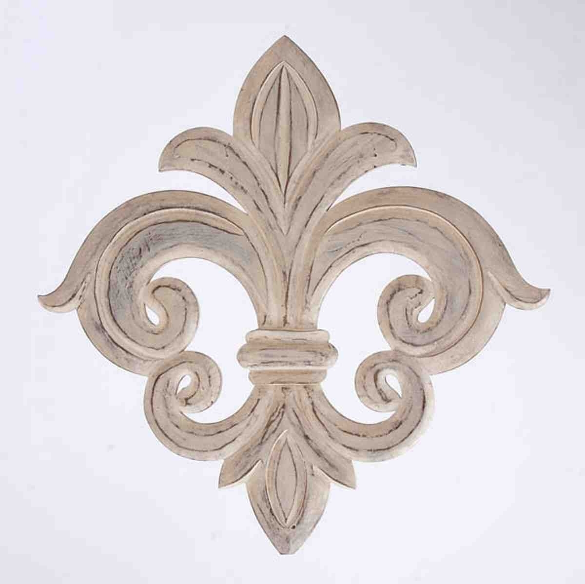 Wrought Iron Fleur De Lis Wall Decor | Wrought Iron Wall Decor Regarding Most Current Fleur De Lis Wall Art (Gallery 2 of 20)