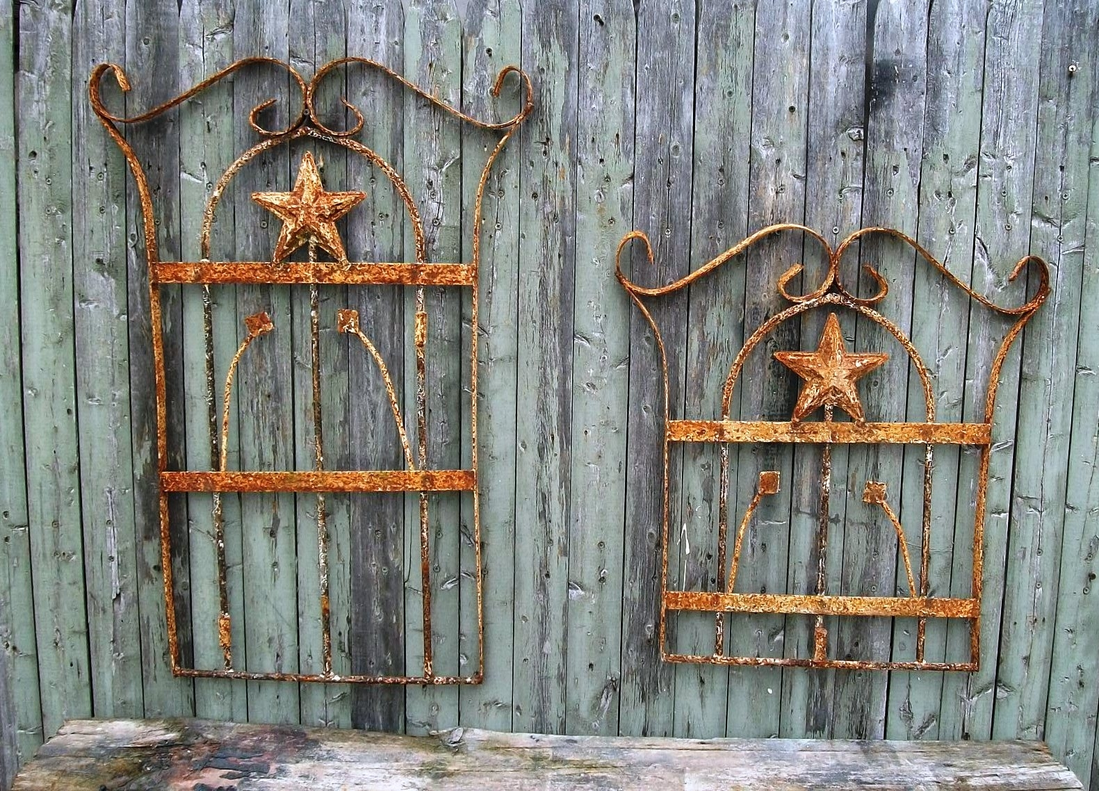 Wrought Iron Garden Decor Wrought Iron Garden Accessories Cape Town Within Most Up To Date Outdoor Wall Art Decors (View 19 of 20)