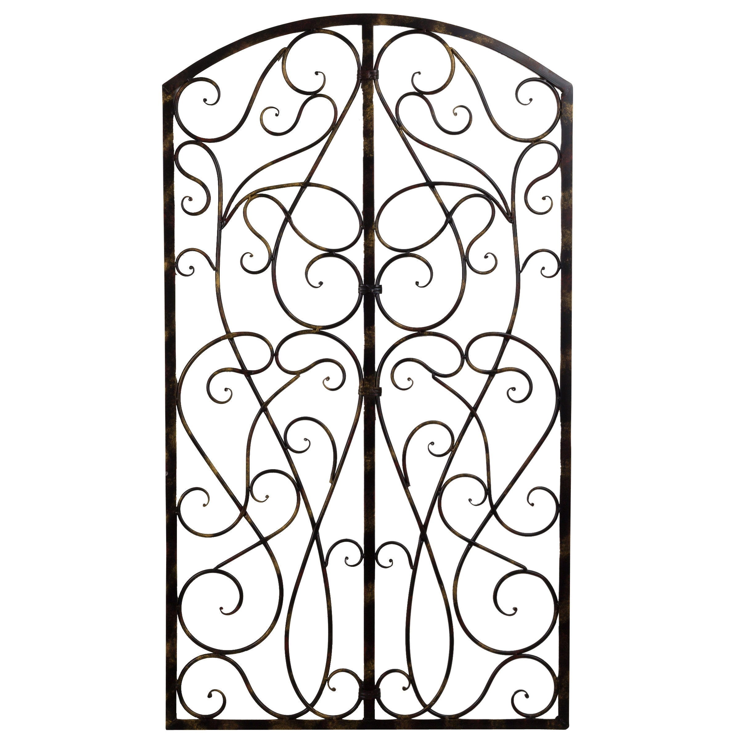 Wrought Iron Scroll Wall Art – Elitflat Pertaining To Latest Wrought Iron Wall Art (View 6 of 15)