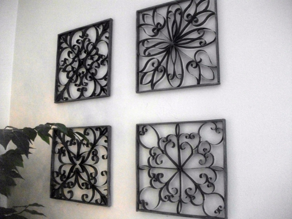 Wrought Iron Wall Decor Ideas Wrought Iron Wall Art Decor Within Most Current Wrought Iron Wall Art (View 13 of 15)
