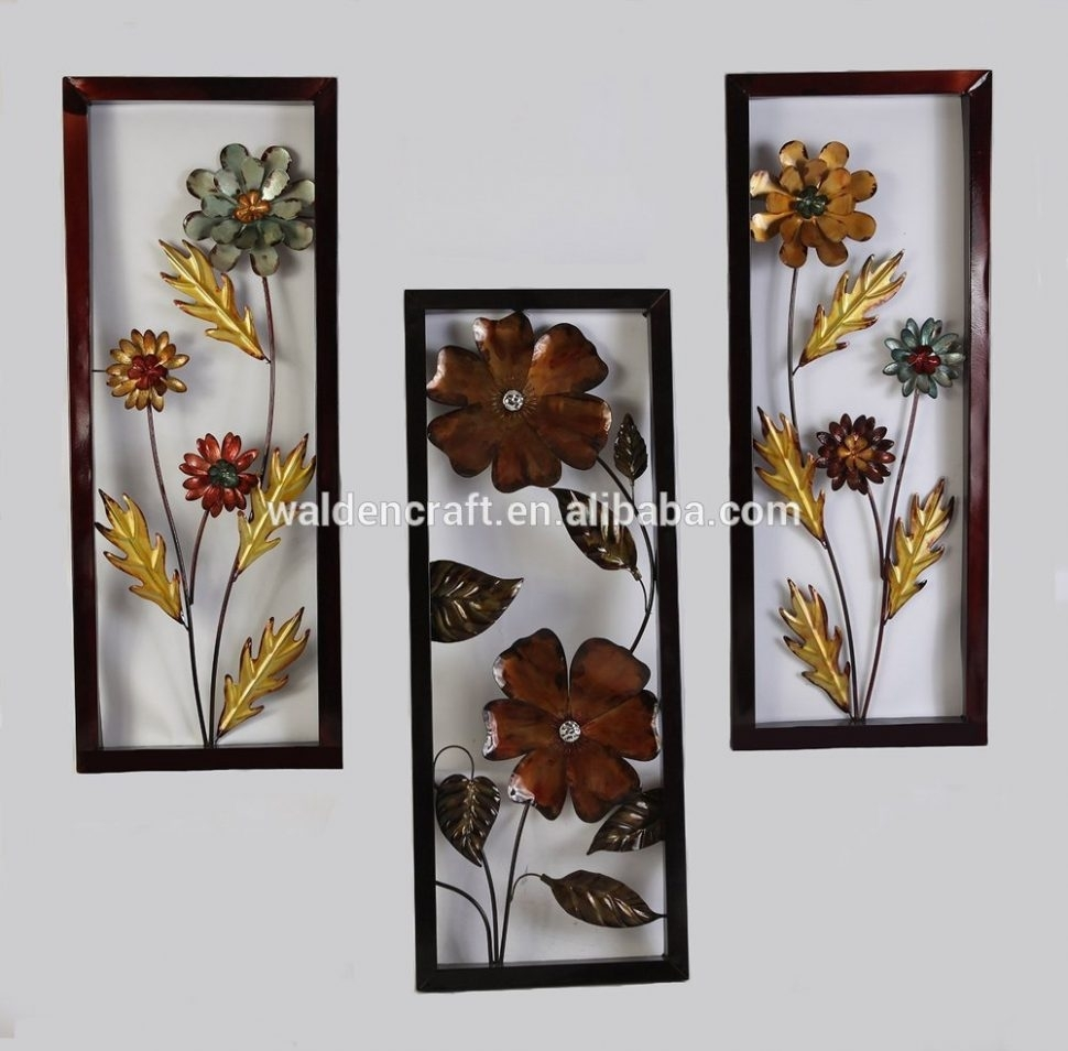 Wrought Iron Wall Decor Large Metal Wall Art Decor Large Metal Wall Regarding Current Outdoor Wall Art Decors (View 11 of 20)