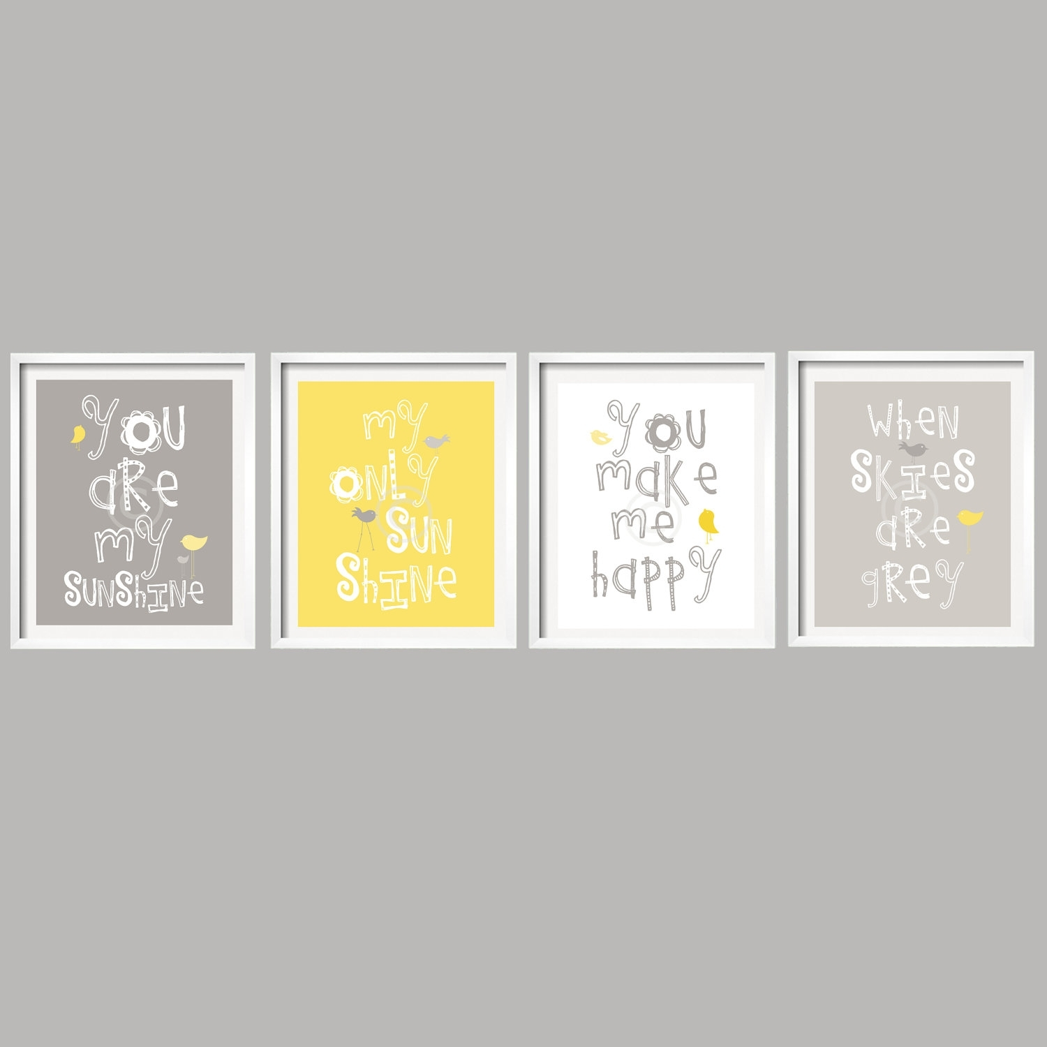 Yellow And Grey Wall Art – Jscollectionofficial Throughout Newest Yellow Wall Art (View 18 of 20)