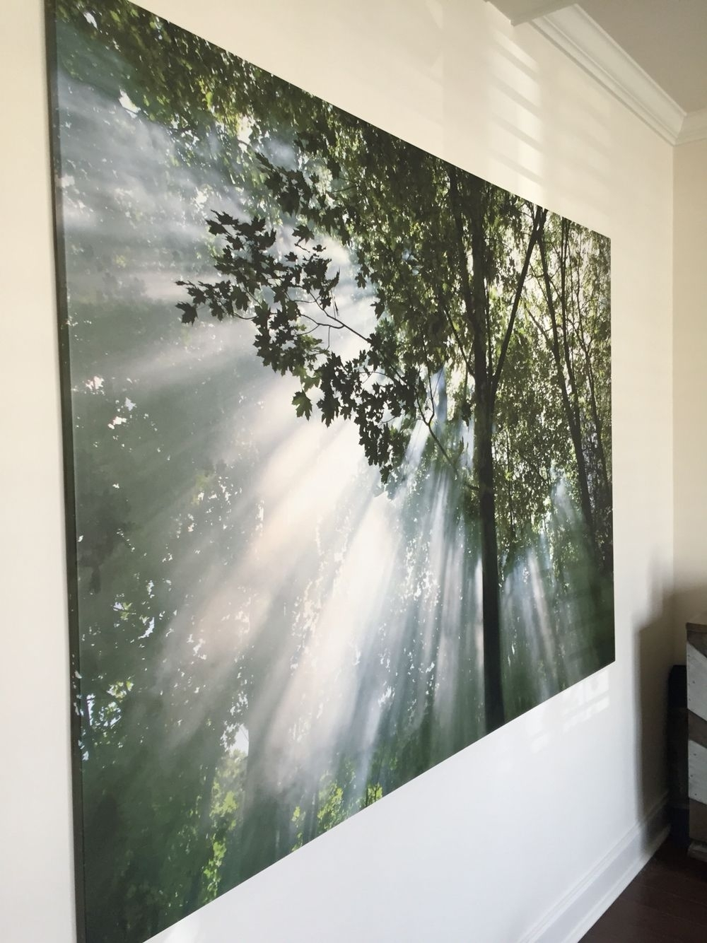 Yoga Room Wall Art  This Is From Ikea! | Meditation Room Ideas Throughout Recent Ikea Wall Art (View 15 of 15)
