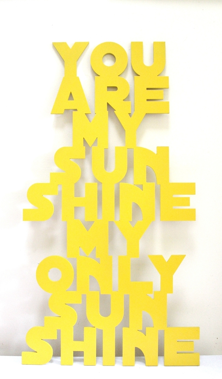 2018 Latest You Are My Sunshine Wall Art