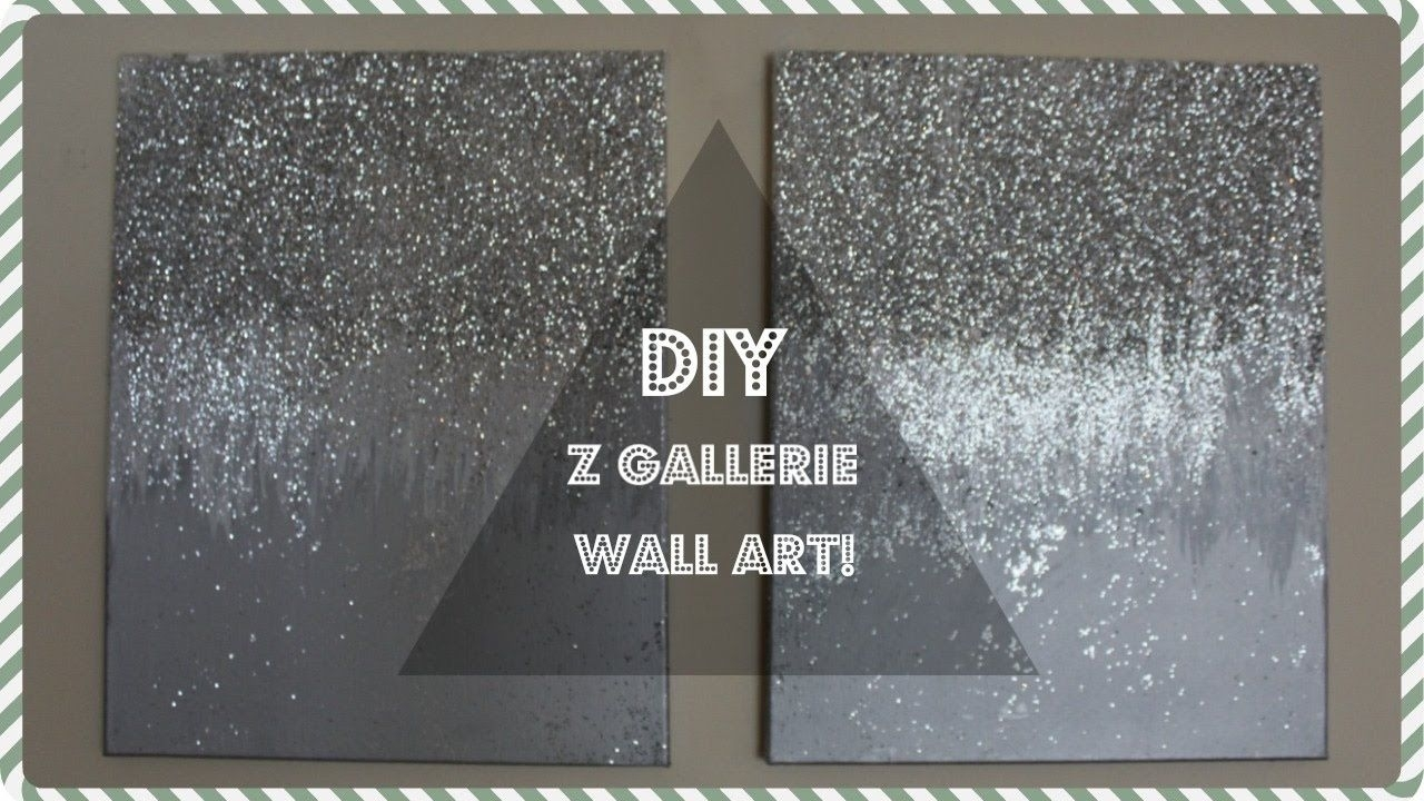 Z Gallerie Wall Decor Dupe! | Diy Christmas Wall Decor! | Don't Inside Best And Newest Z Gallerie Wall Art (View 15 of 15)