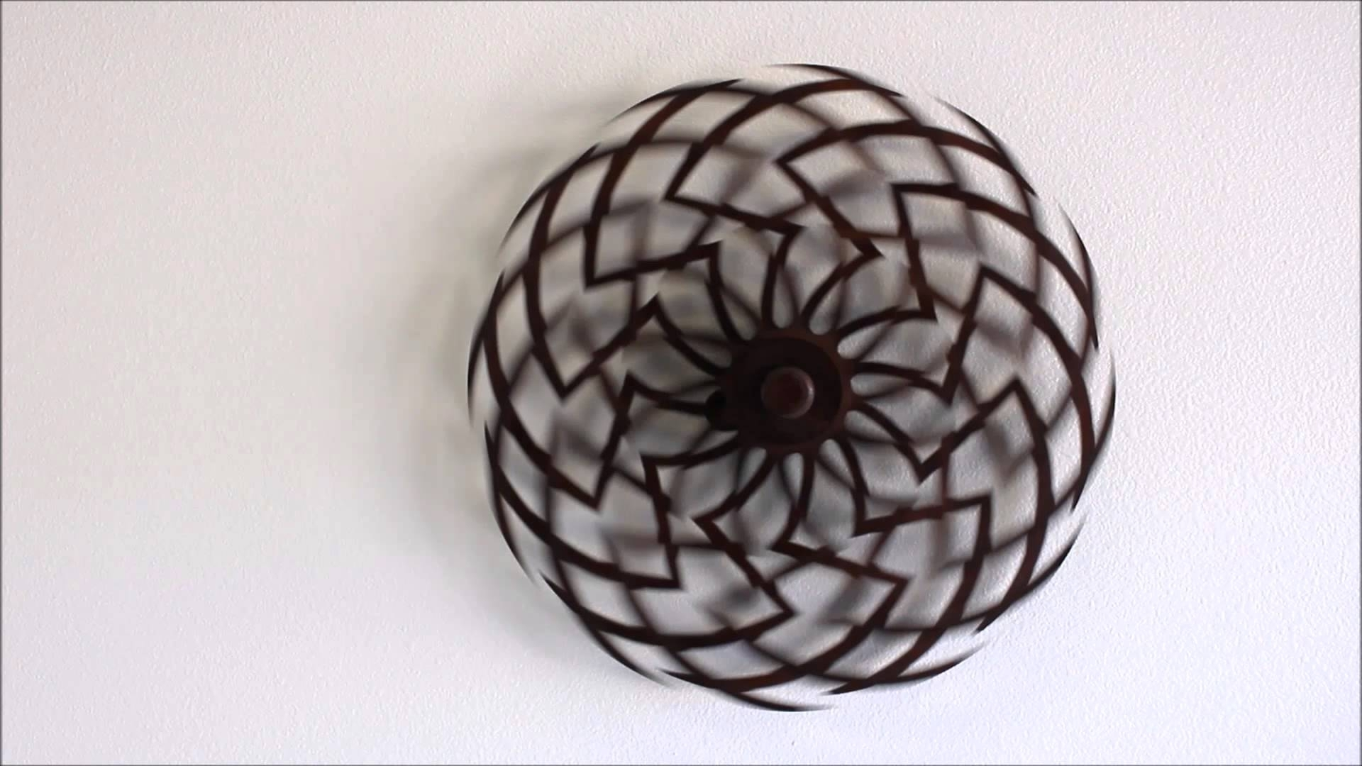 Zinnia Kinetic Sculptureclayton Boyer – Youtube Throughout Most Recent Kinetic Wall Art (View 9 of 20)