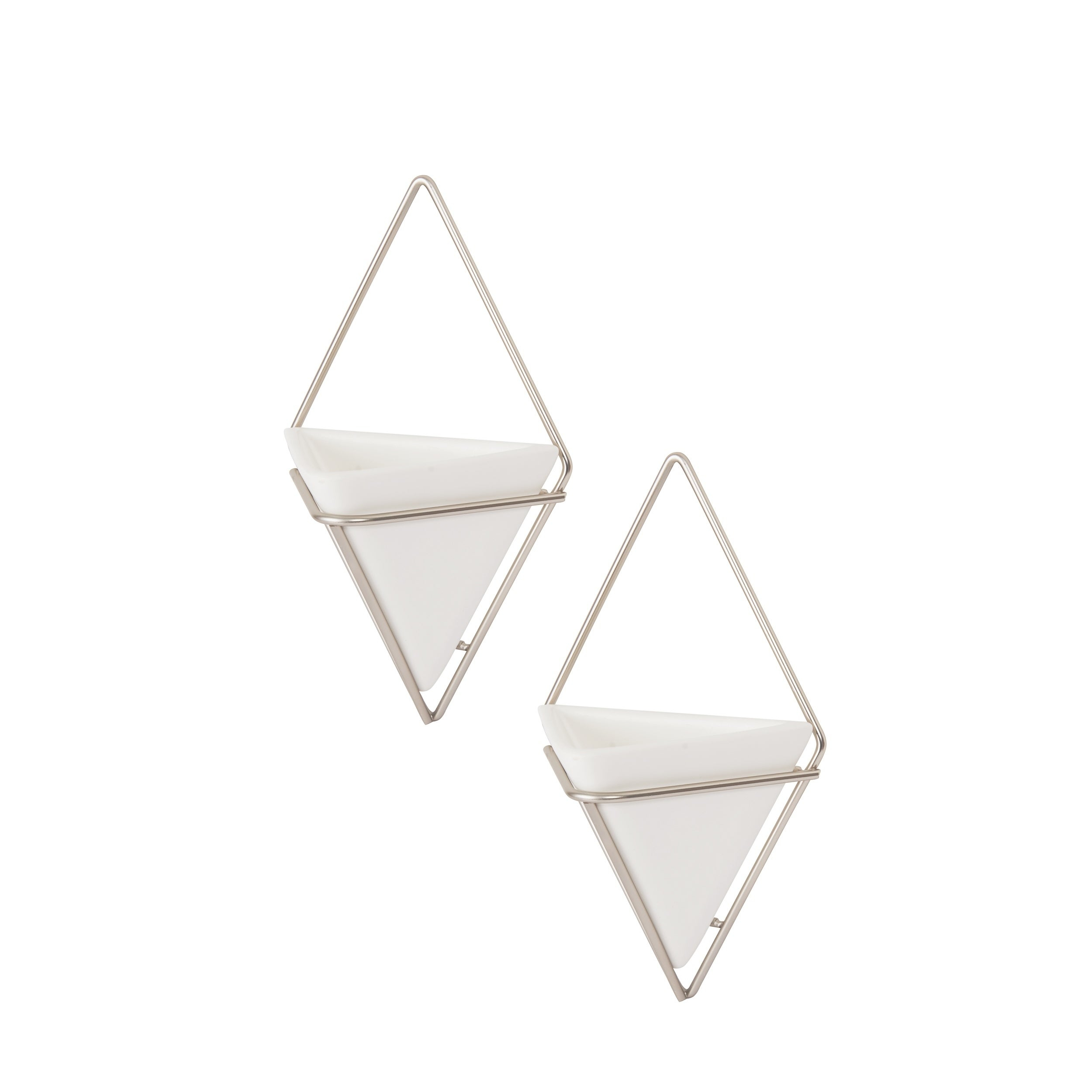2 Piece Trigg Wall Decor Sets (Set Of 2) Intended For Most Up To Date Shop Umbra Trigg Hanging Planter & Wall Decor (Set Of 2) – Free (View 1 of 20)