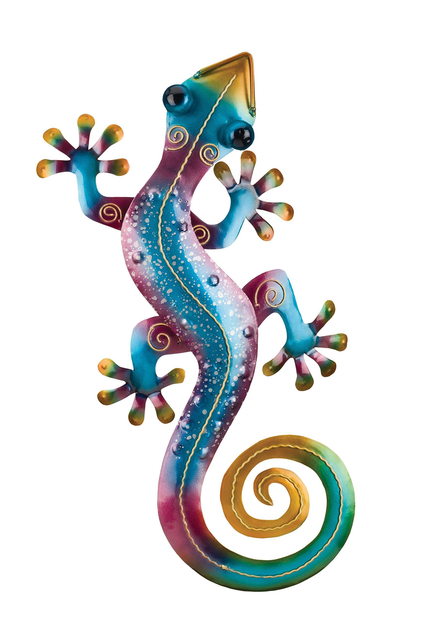2019 Gecko Wall Decor Regarding Regal Art And Gift Gecko Wall Decor 19 Rainbow Purple * You Can Find (View 11 of 20)