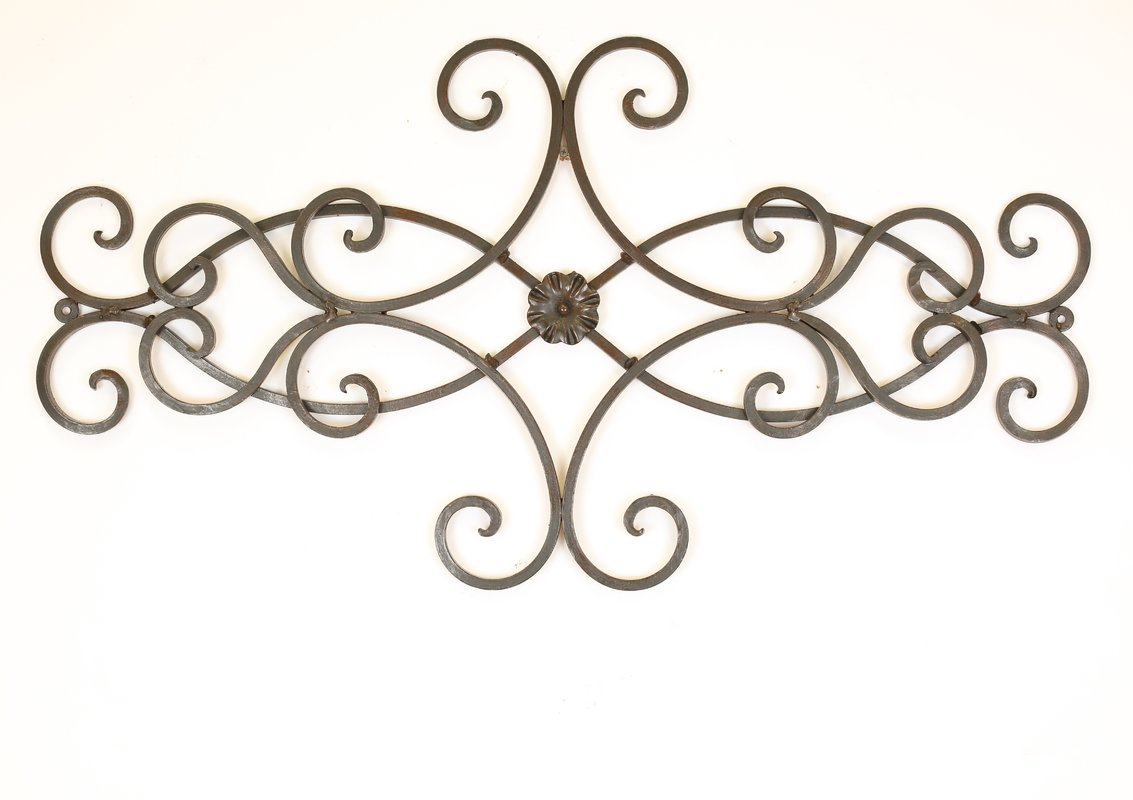 2019 Ornamental Wood And Metal Scroll Wall Decor For Wood Door Wall Decor (View 1 of 20)