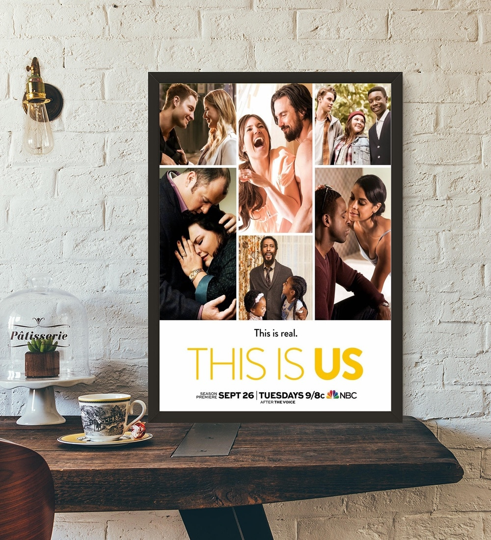 2019 This Is Us Poster Tv Series Art Print Wall Art Wall Decor Silk Intended For This Is Us Wall Decor (Gallery 6 of 20)