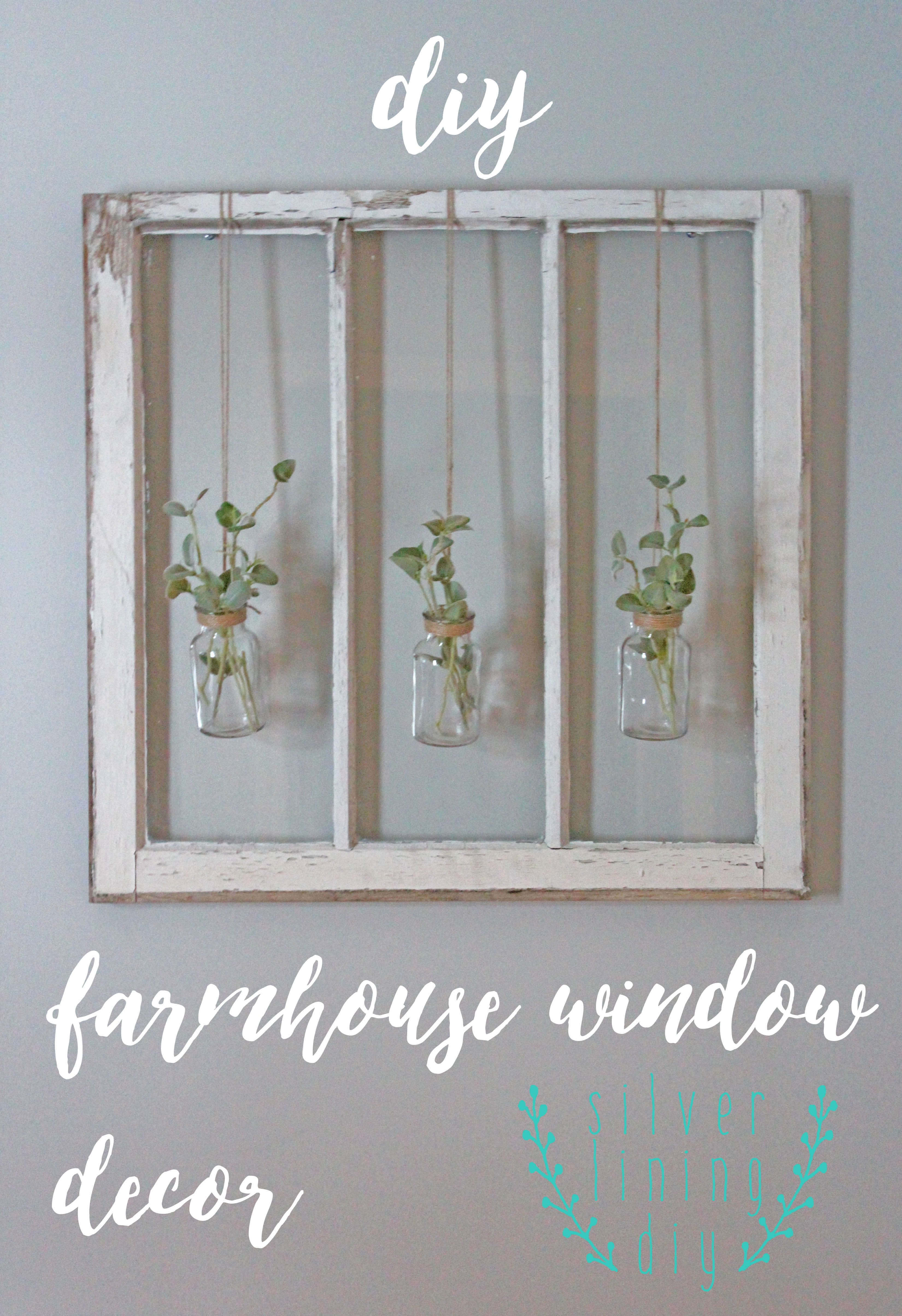 2020 Have A Ton Of Old Barn Windows Hanging Around Your House? Follow With Shutter Window Hanging Wall Decor (Gallery 4 of 20)