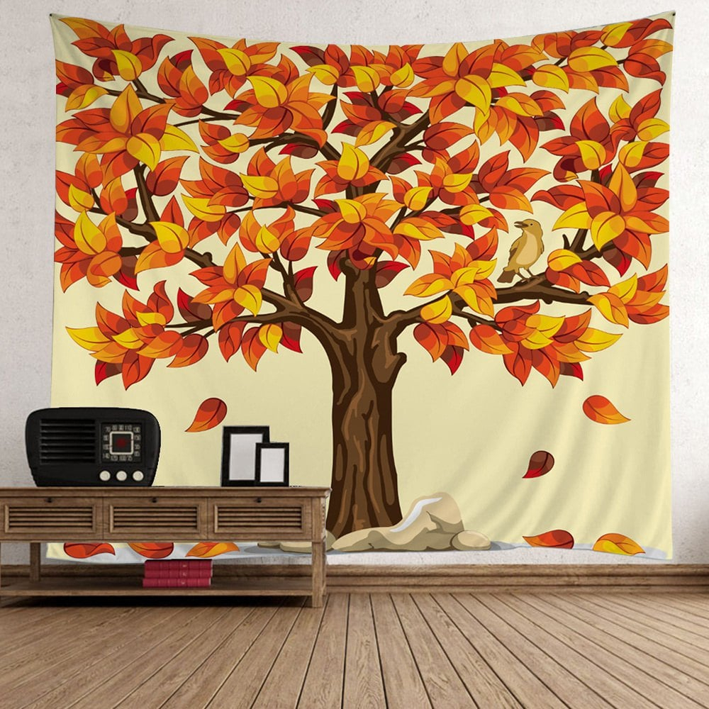 [%23% Off] Home Decor Tree Falling Leaves Tapestry | Rosegal Throughout Best And Newest Flowing Leaves Wall Decor|flowing Leaves Wall Decor With Regard To Latest 23% Off] Home Decor Tree Falling Leaves Tapestry | Rosegal|recent Flowing Leaves Wall Decor For 23% Off] Home Decor Tree Falling Leaves Tapestry | Rosegal|2019 23% Off] Home Decor Tree Falling Leaves Tapestry | Rosegal Within Flowing Leaves Wall Decor%] (View 10 of 20)