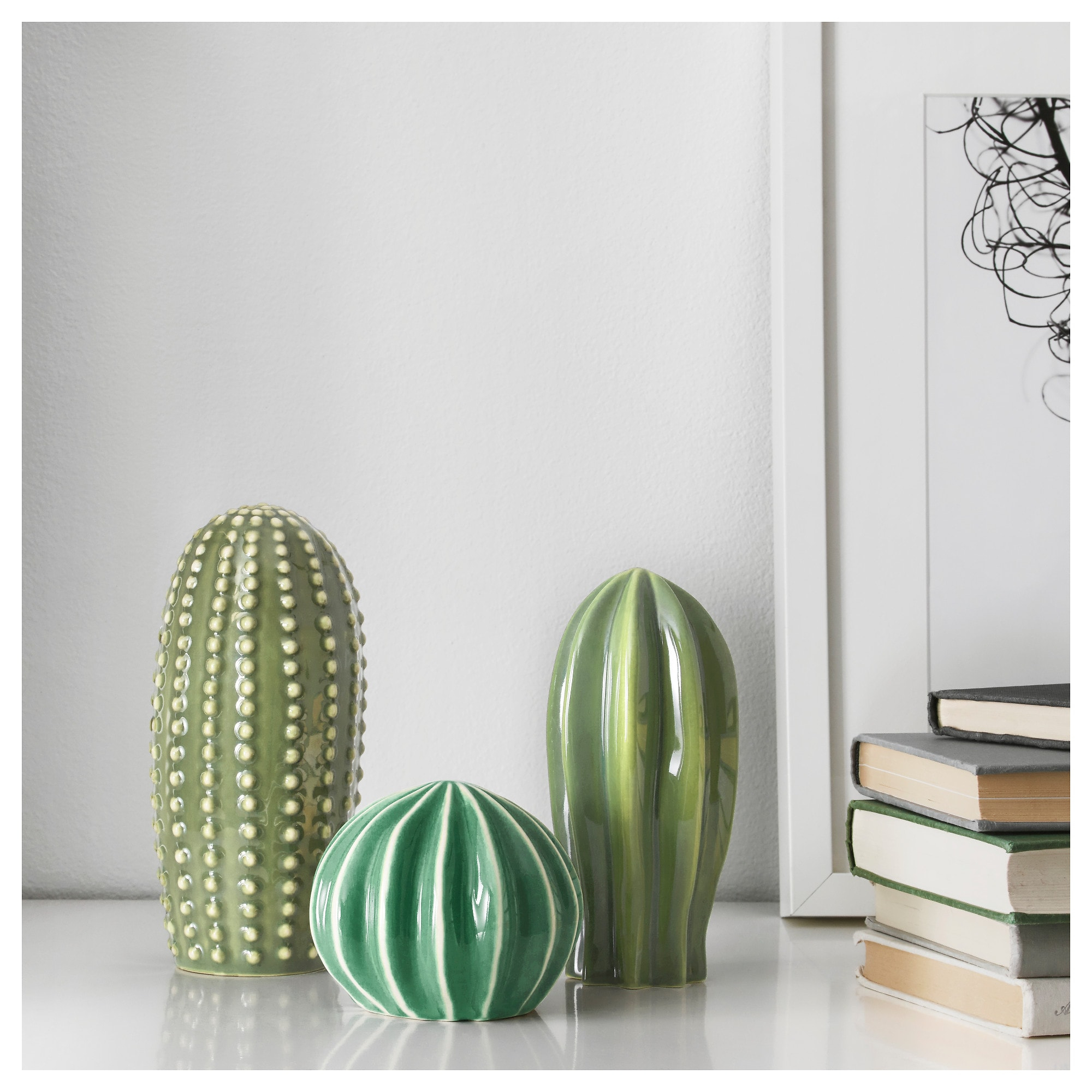 3 Piece Ceramic Flowers Wall Decor Sets throughout Recent Själsligt Decoration, Set Of 3 - Ikea