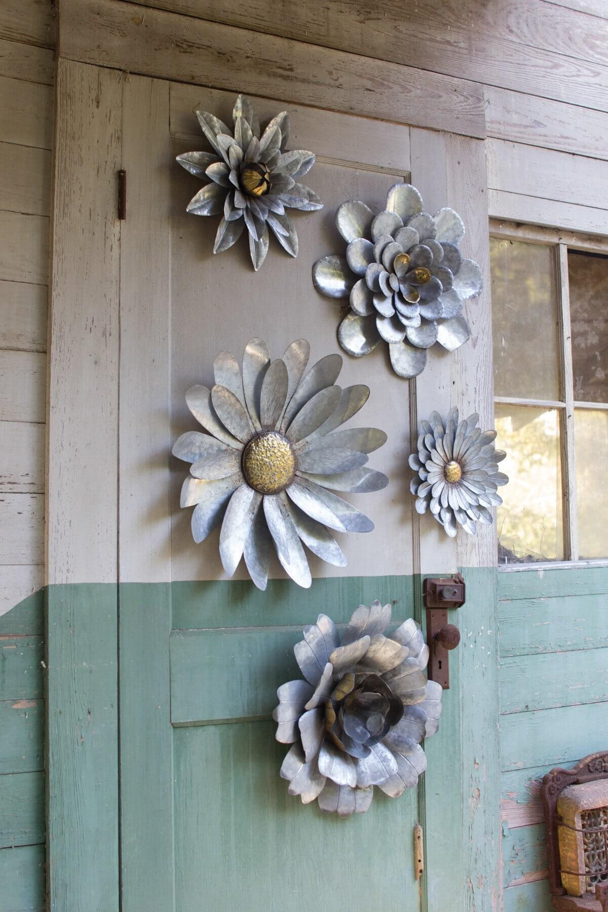 31 Best Metal Wall Decor Ideas And Designs For 2019 In Popular 2 Piece Multiple Layer Metal Flower Wall Decor Sets (View 2 of 20)