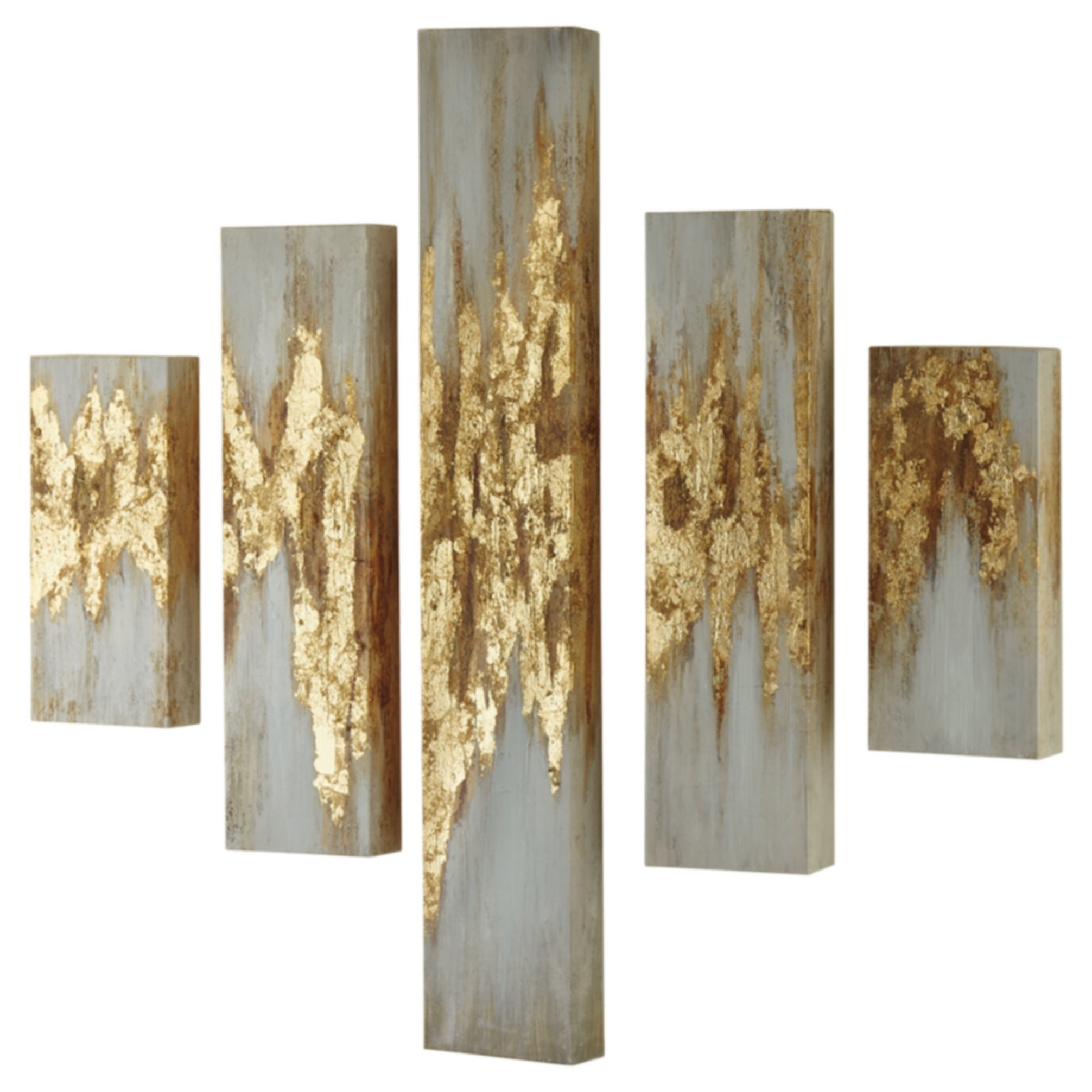 4 Piece Metal Wall Decor Sets Inside Well Known Matching Sets (View 2 of 20)