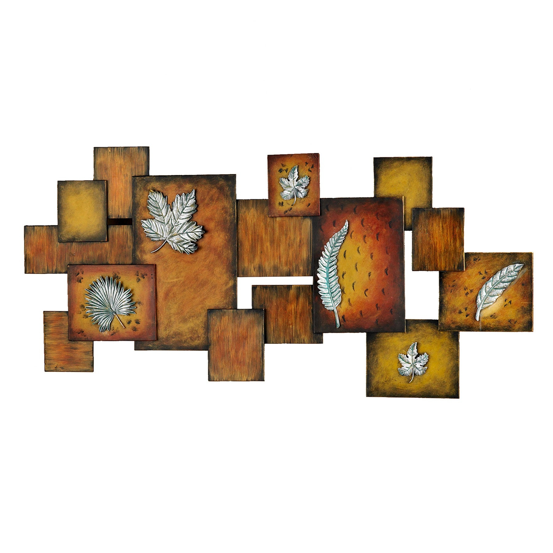 Abstract Bar And Panel Wall Decor With Current Shop Harper Blvd Abstract Leaves Panel Wall Art – On Sale – Free (View 6 of 20)
