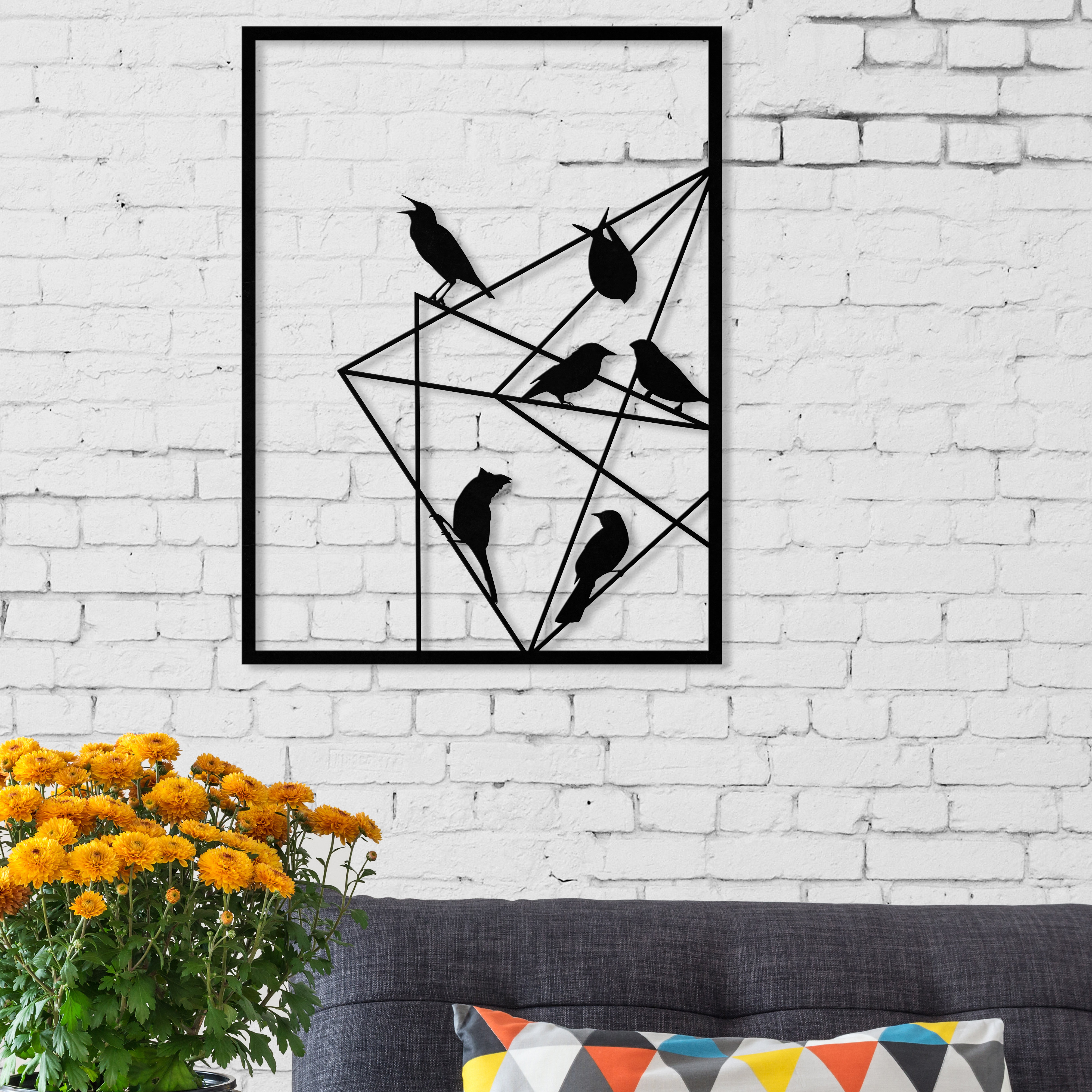Allmodern Pertaining To Mariposa 9 Piece Wall Decor (View 17 of 20)