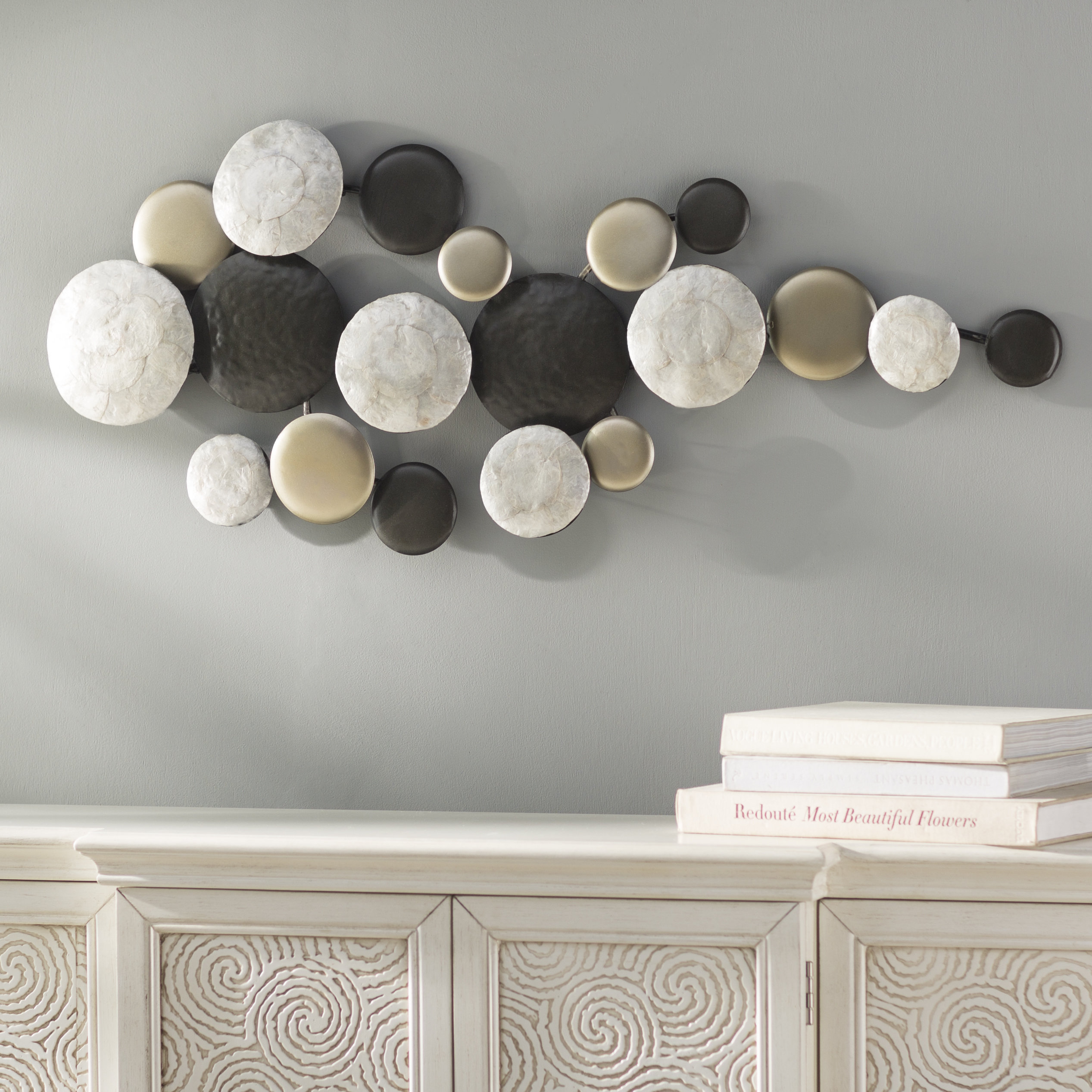 Alvis Traditional Metal Wall Decor For Famous World Menagerie Pebble Trail Wall Decor & Reviews (View 4 of 20)