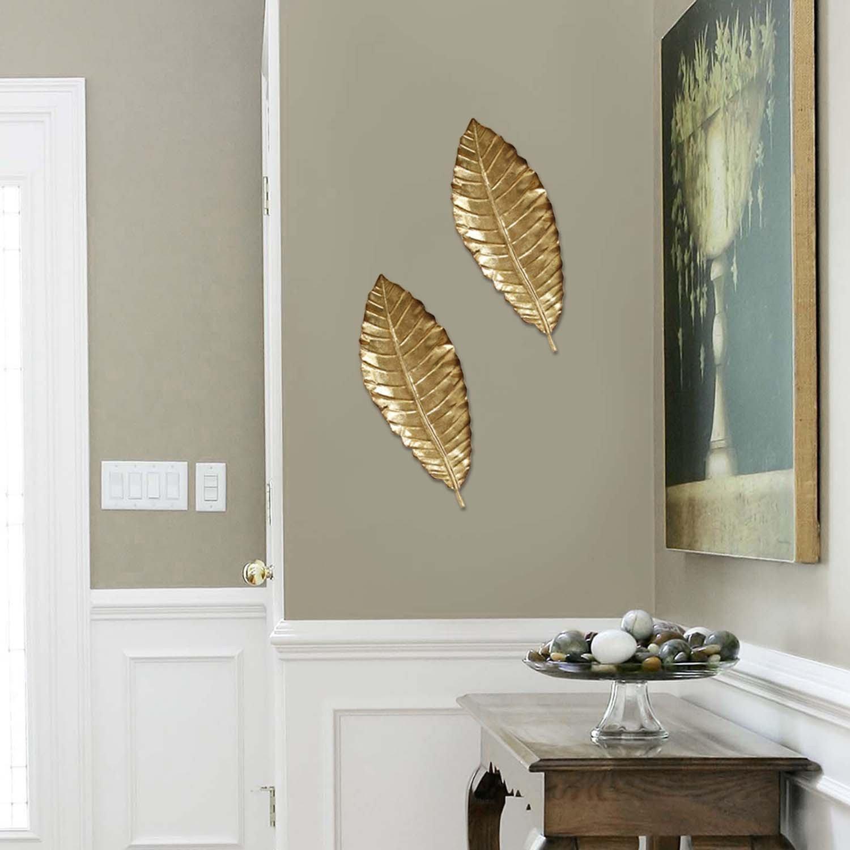 Bay Isle Home Elegant Leaf Wall Décor (Gallery 14 of 20)