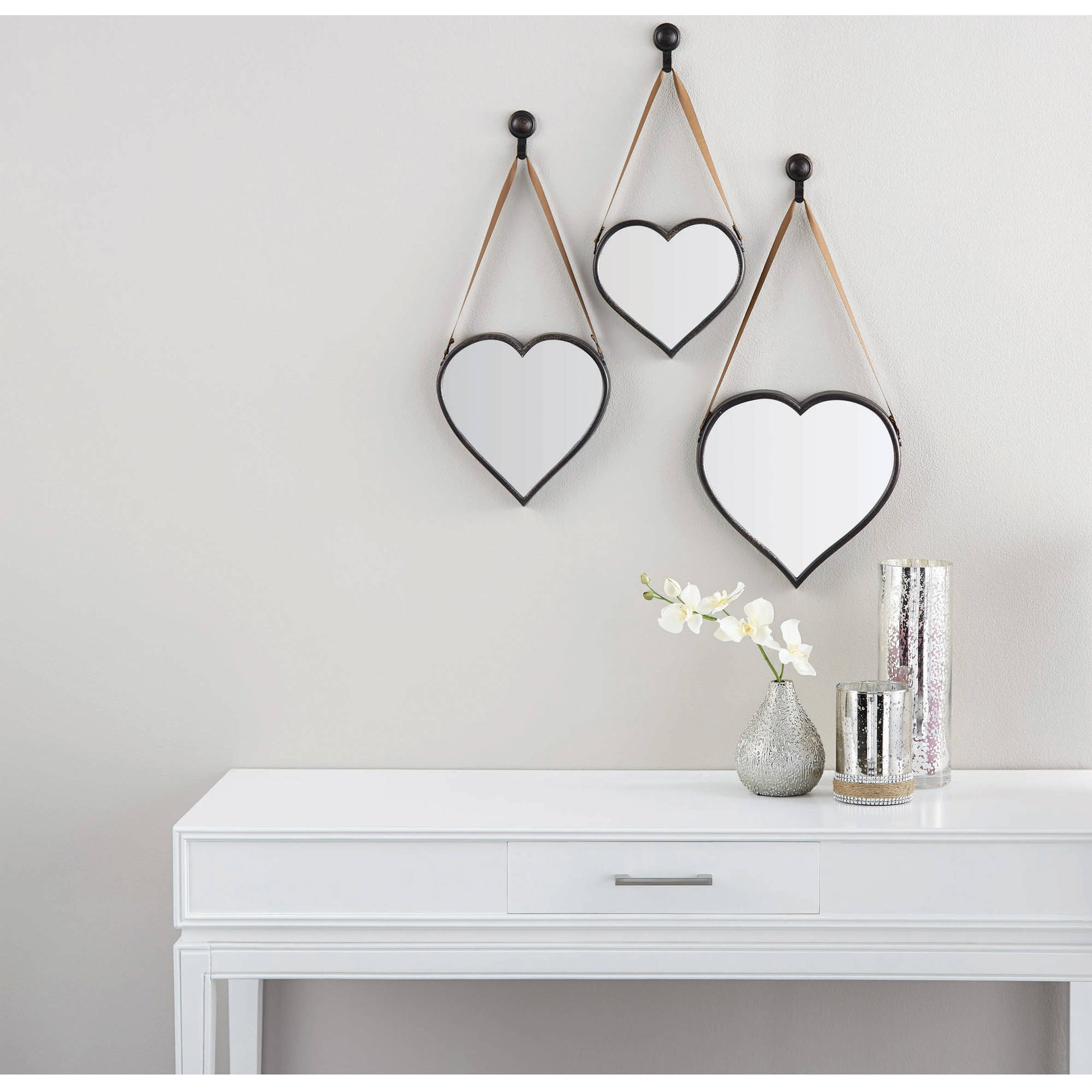 Featured Photo of 2 Piece Heart Shaped Fan Wall Decor Sets