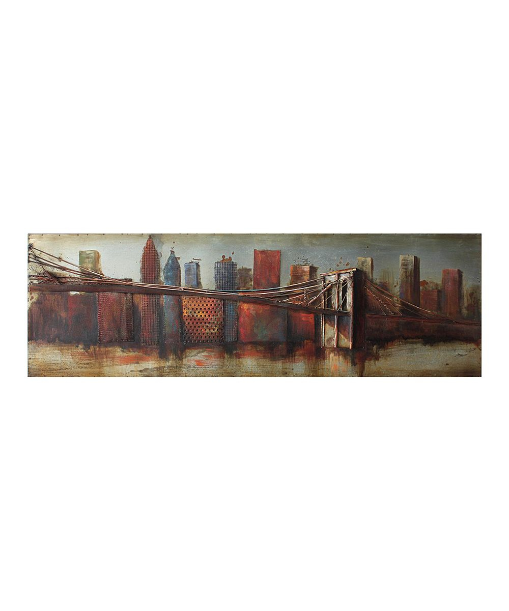 Best And Newest Bridge To The City Iron Wall Art Sculpture (Gallery 8 of 20)