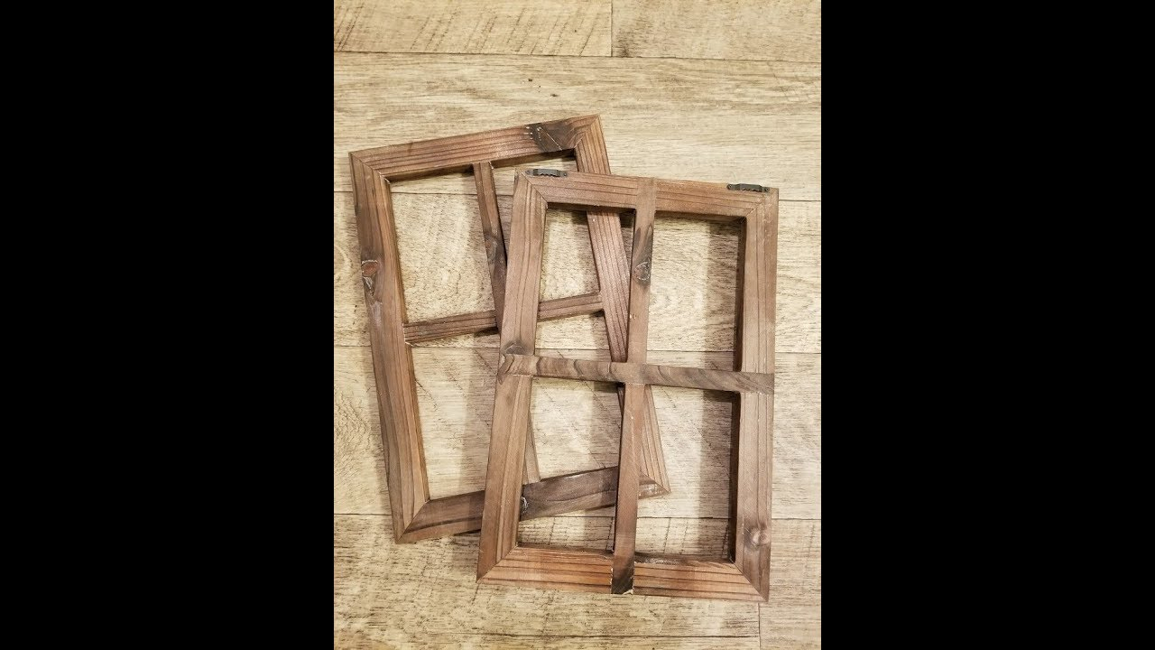 Best And Newest Cade Old Rustic Window Barnwood Frames  Decoration For Home Or With Old Rustic Barn Window Frame (Gallery 4 of 20)