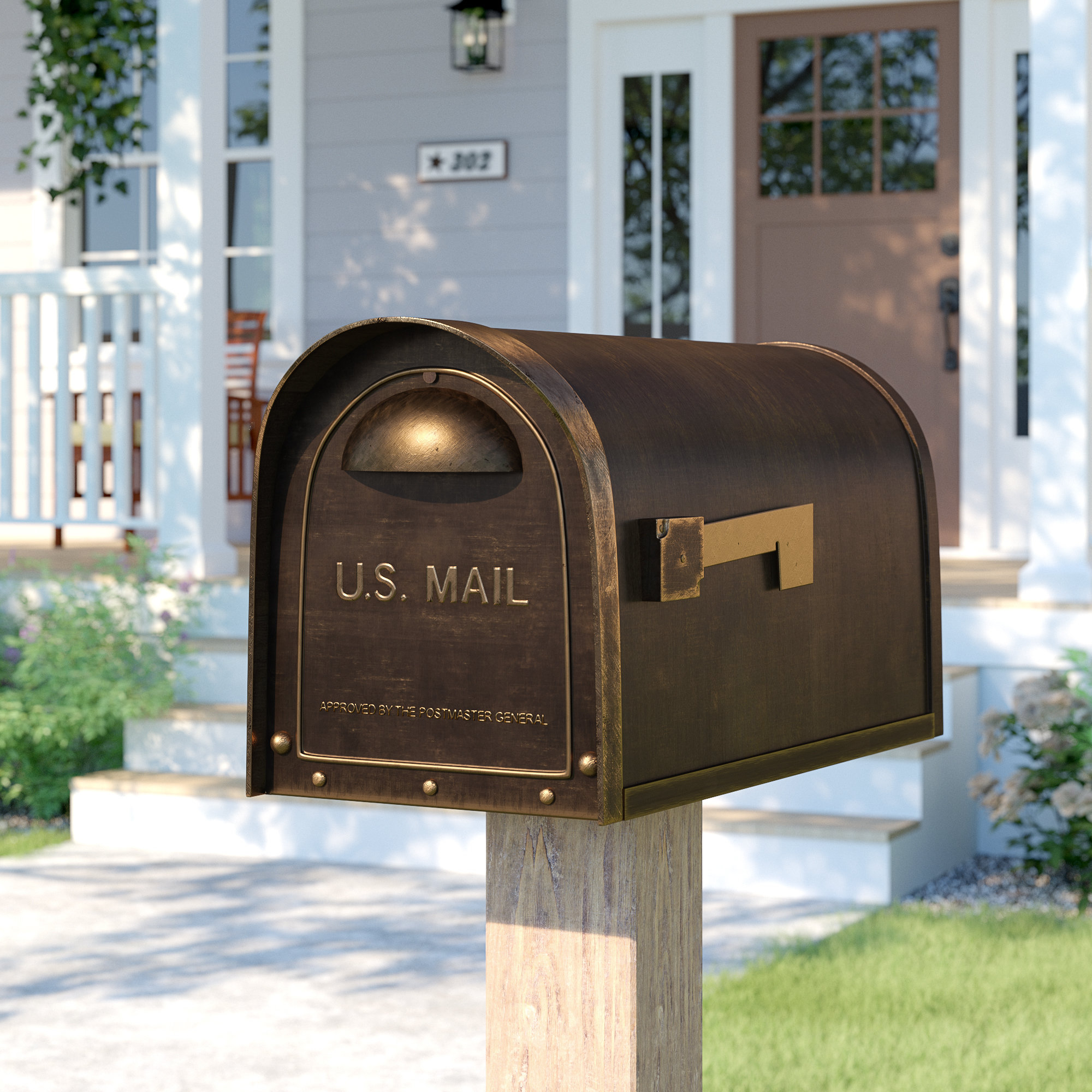 Birch Lane With Regard To Best And Newest Lacordaire Wall Mounted Mailbox (View 10 of 20)