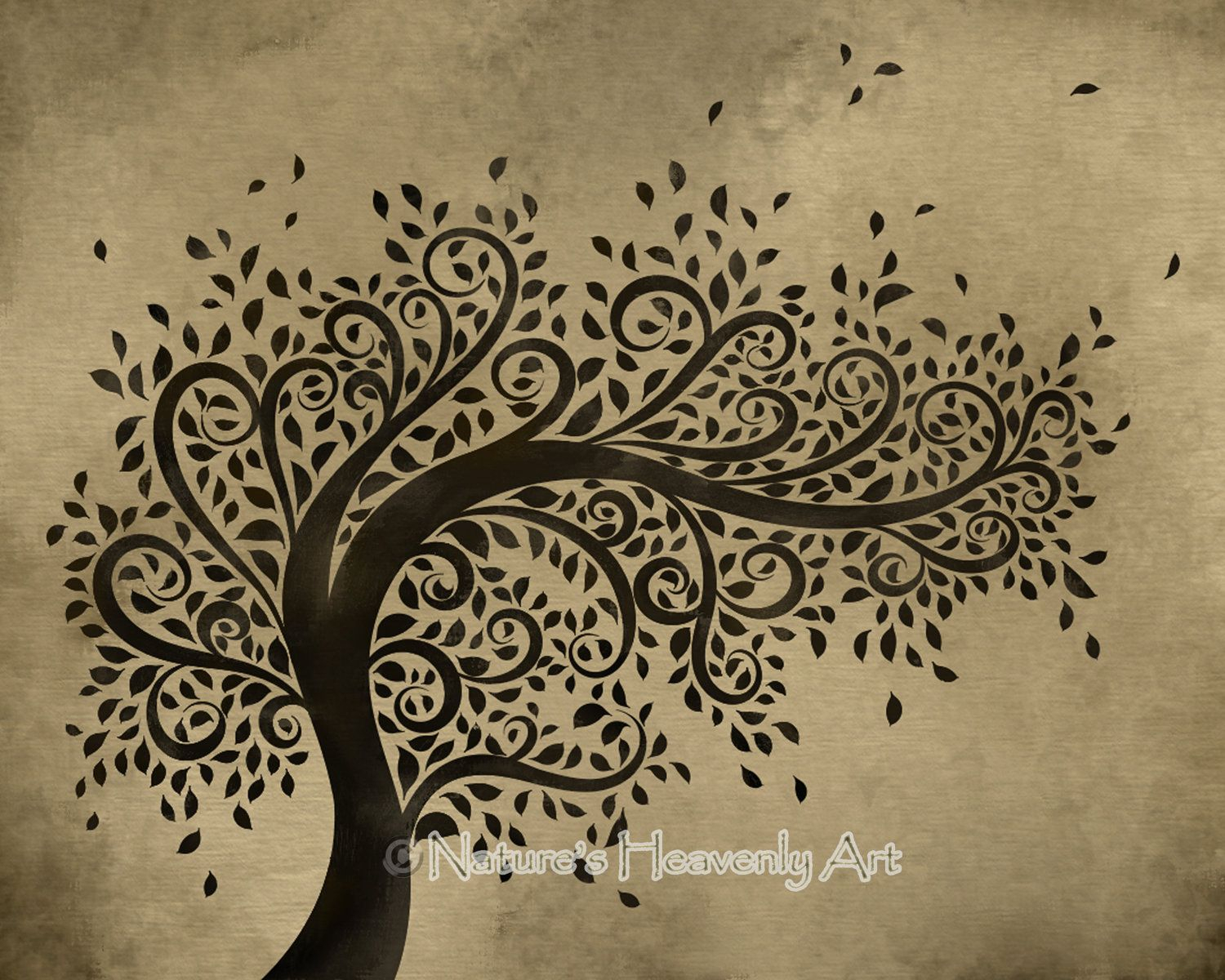 Blowing Leaves Wall Decor For 2020 Whimsical Art (View 19 of 20)