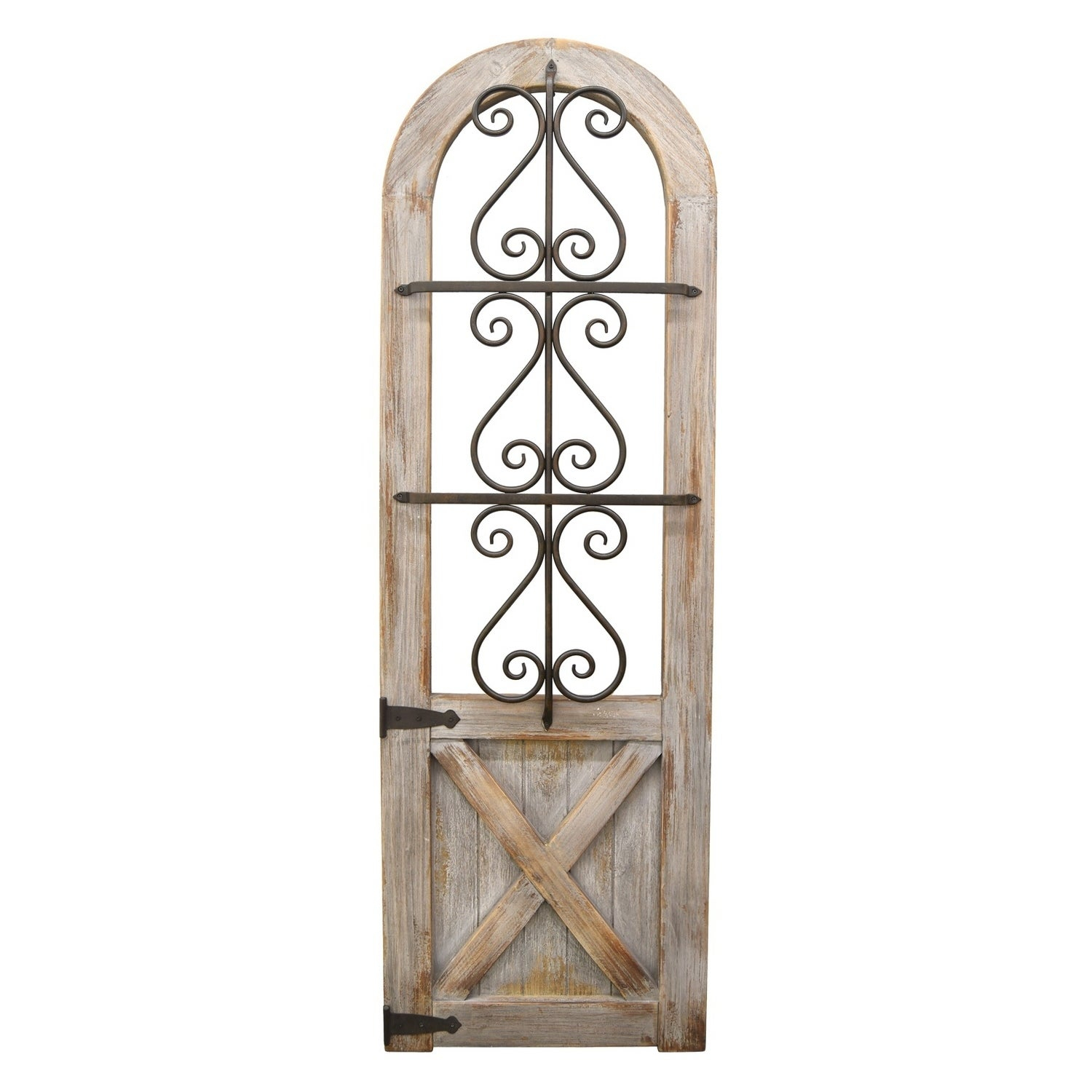 Brown Wood And Metal Wall Decor Inside Best And Newest Shop Brown Wood/metal Wall Decor – Free Shipping Today – Overstock (View 7 of 20)