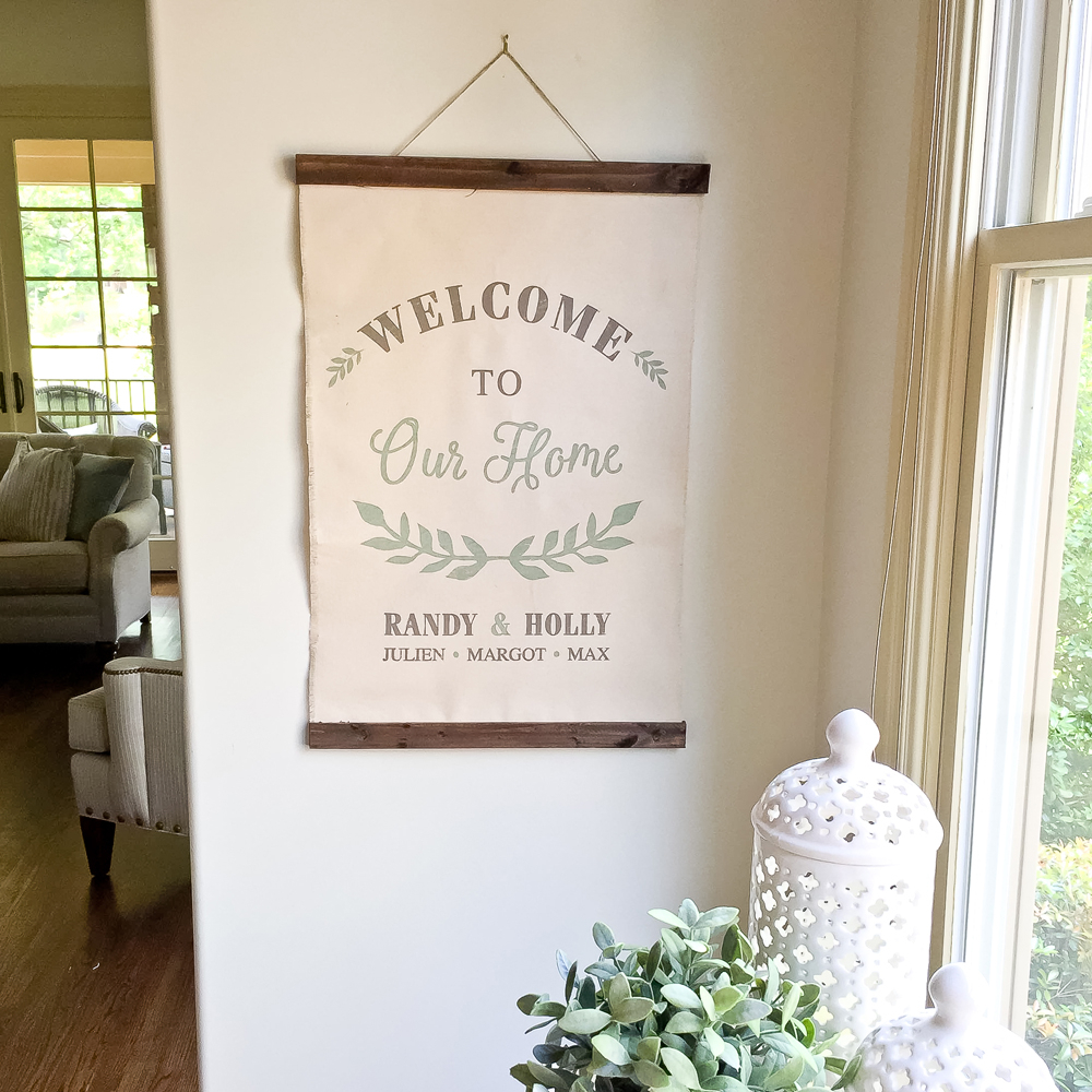 Canvas Wall Hangings – Ar Workshop In Recent Tree Welcome Sign Wall Decor (Gallery 19 of 20)