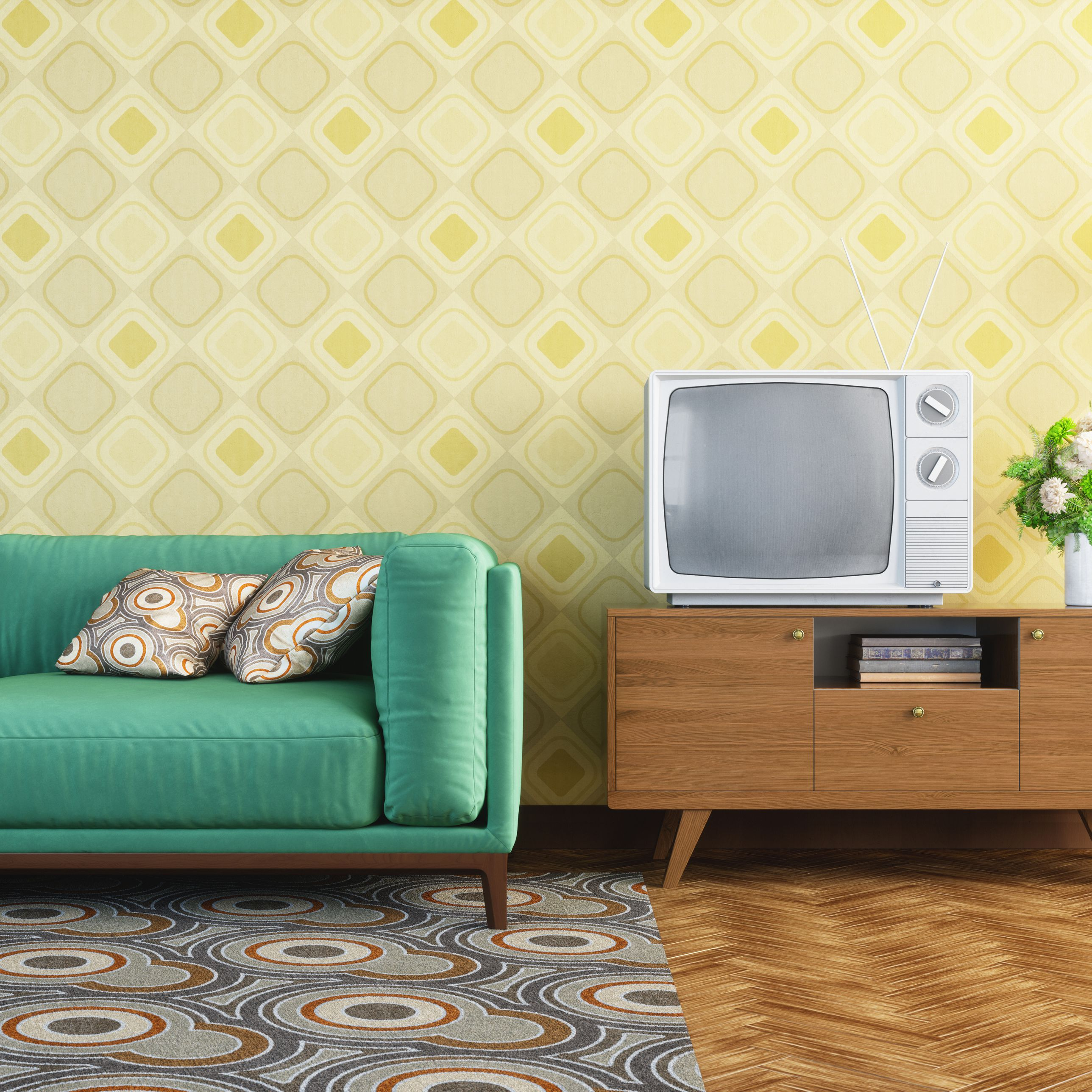 Casual Country Eat Here Retro Wall Decor For Trendy 6 Decorating Tips For Retro Style (Gallery 10 of 20)