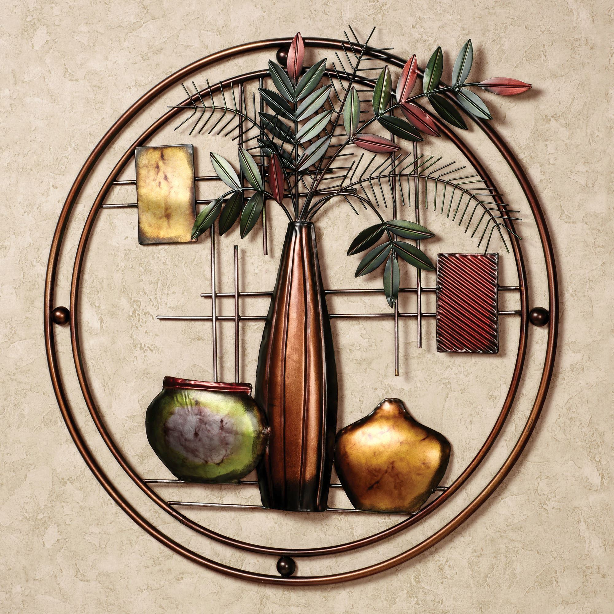 Contemporary Abstract Round Wall Decor With Regard To Latest Miruna Round Metal Wall Art (Gallery 7 of 20)