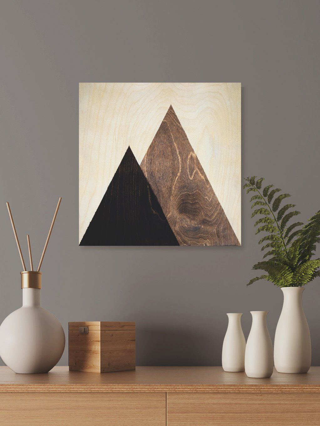 Contemporary Geometric Wall Decor Regarding Recent Contemporary Mountain Wall Decor, Dorm Wall Hanging Gift, Geometric (View 9 of 20)