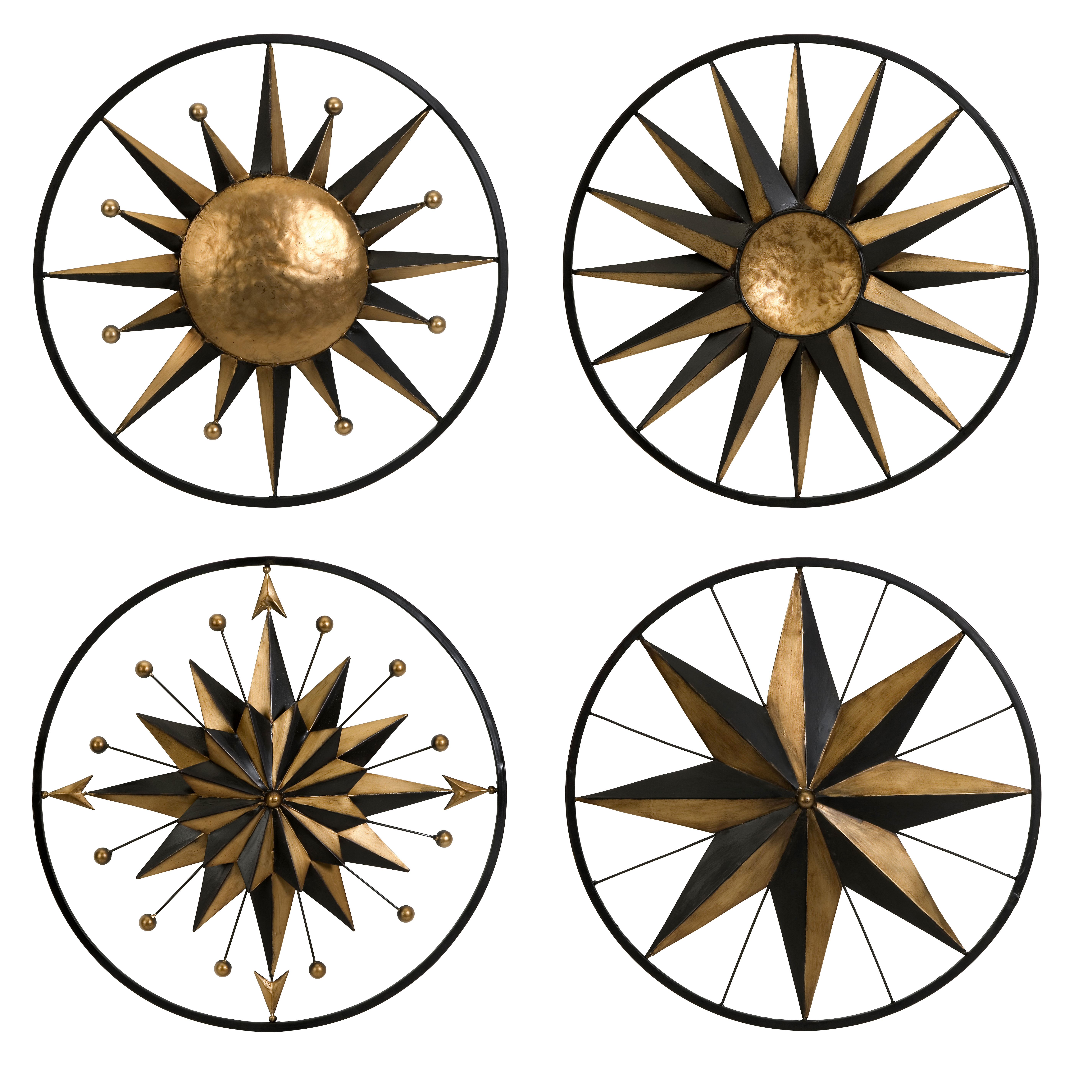Current 4 Piece Metal Wall Decor Sets Throughout Home Improvement Style (View 4 of 20)