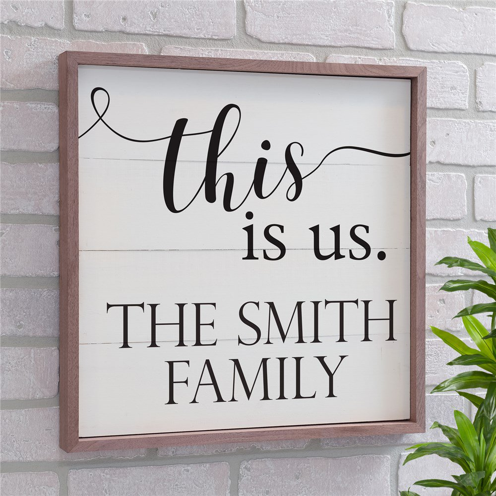 Current This Is Us Wall Decor Intended For Personalized This Is Us Wood Pallet Wall Decor (Gallery 16 of 20)
