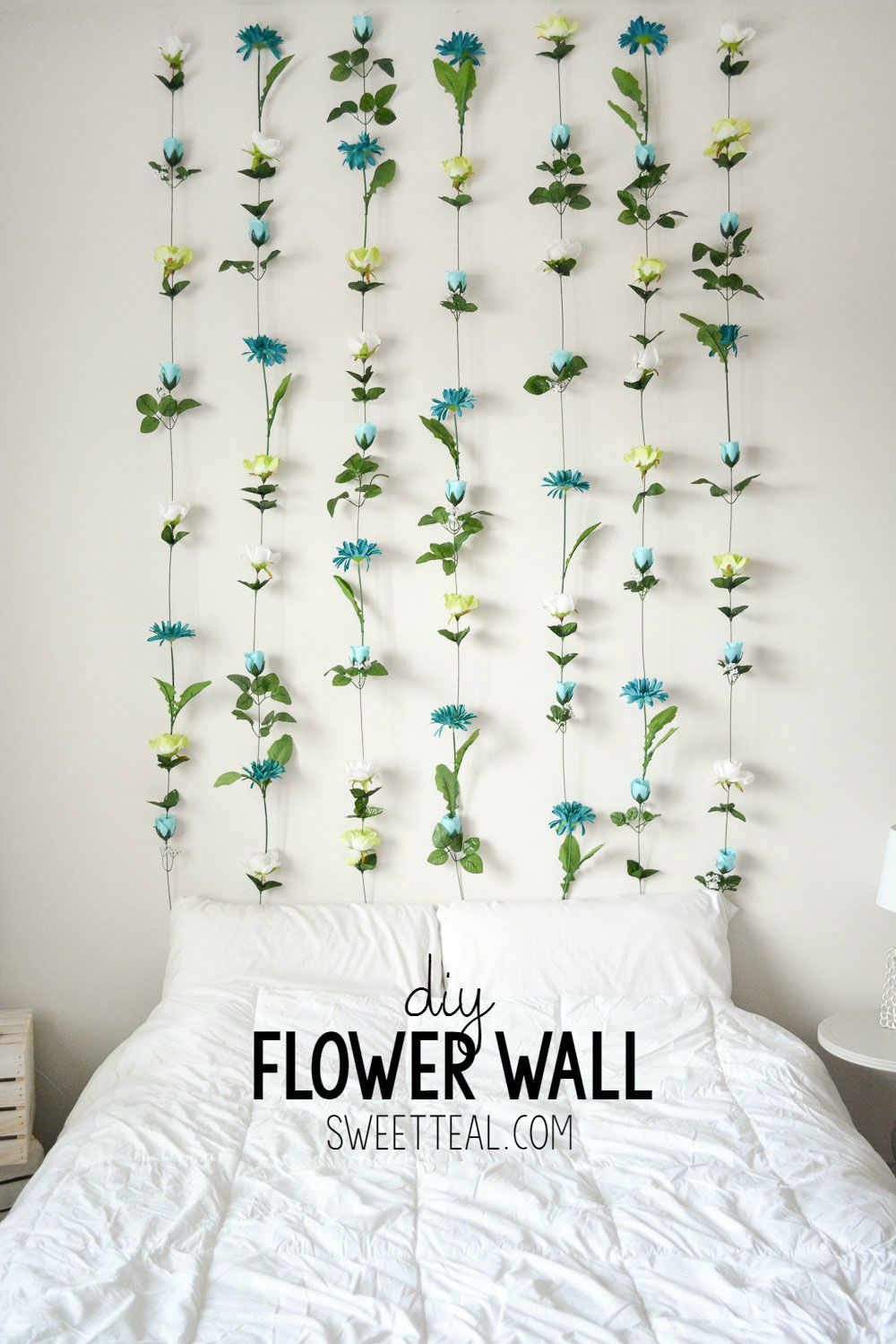 Diy Flower Wall (Gallery 15 of 20)