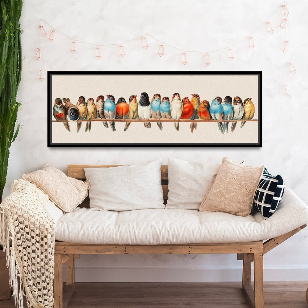 Etsy For Best And Newest Birds On A Wire Wall Decor (View 6 of 20)