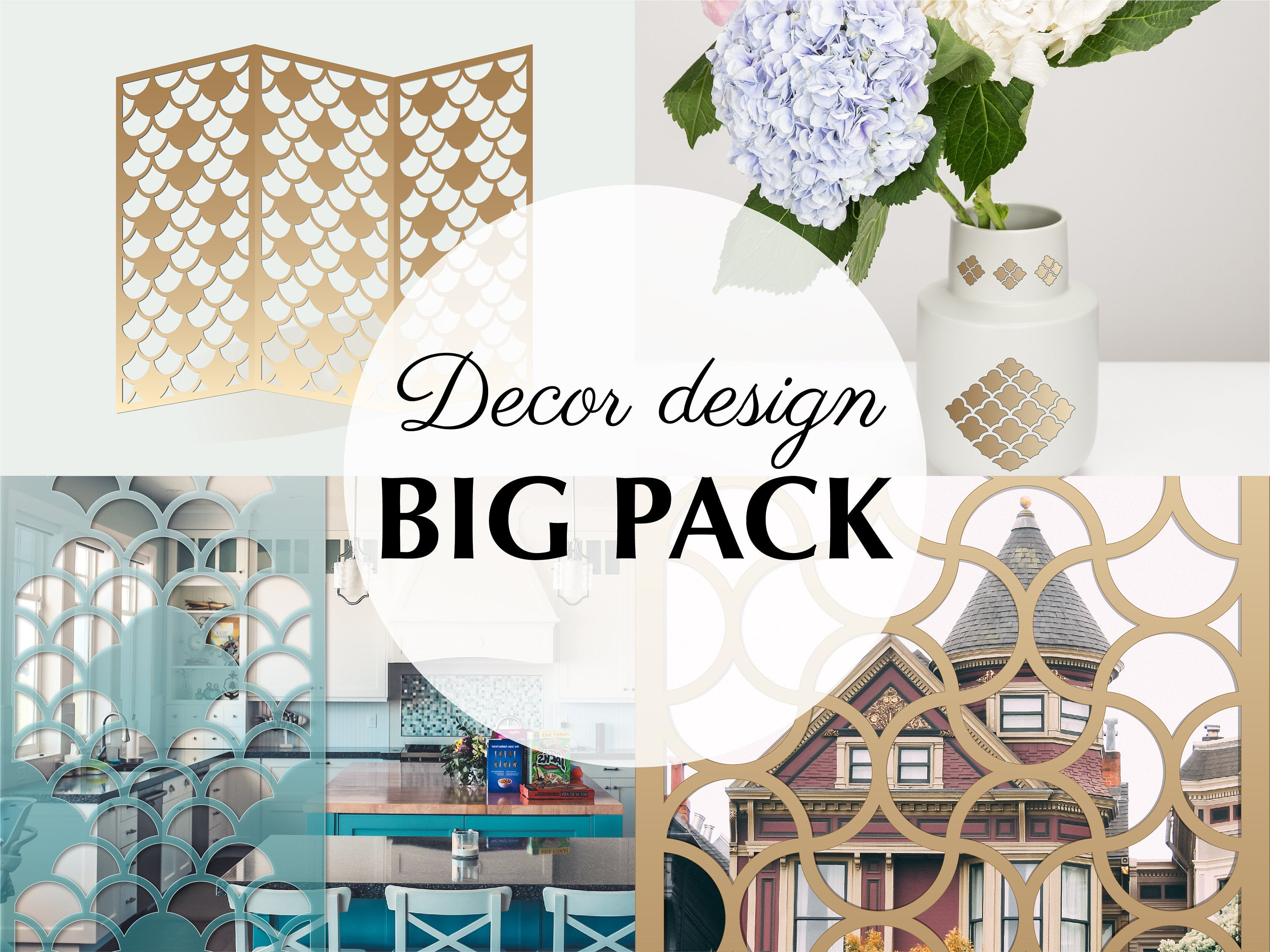 Etsy For Floral Patterned Over The Door Wall Decor (View 7 of 20)