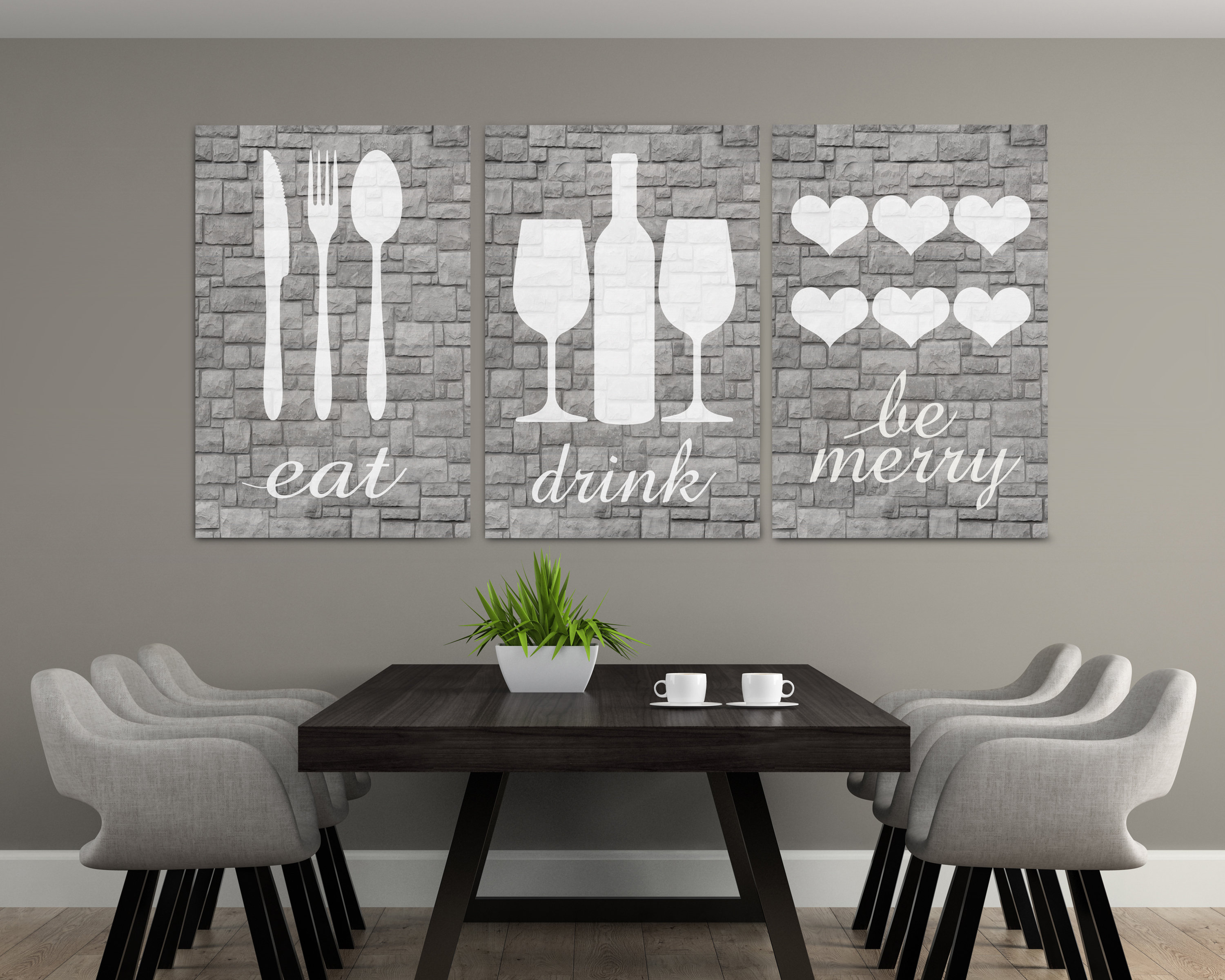 Etsy For Well Liked Eat Rustic Farmhouse Wood Wall Decor (View 16 of 20)