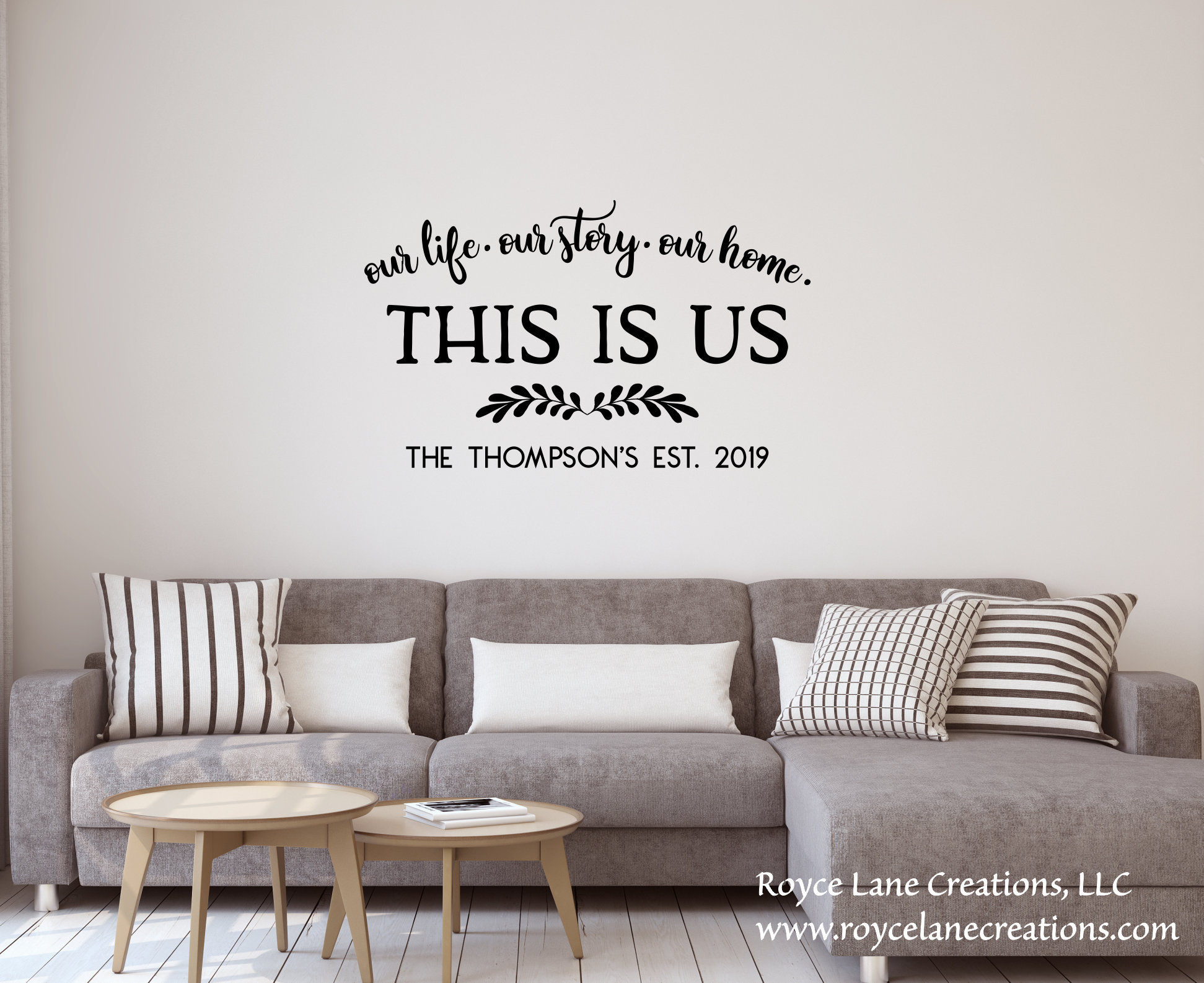Etsy Intended For Widely Used This Is Us Wall Decor (Gallery 14 of 20)