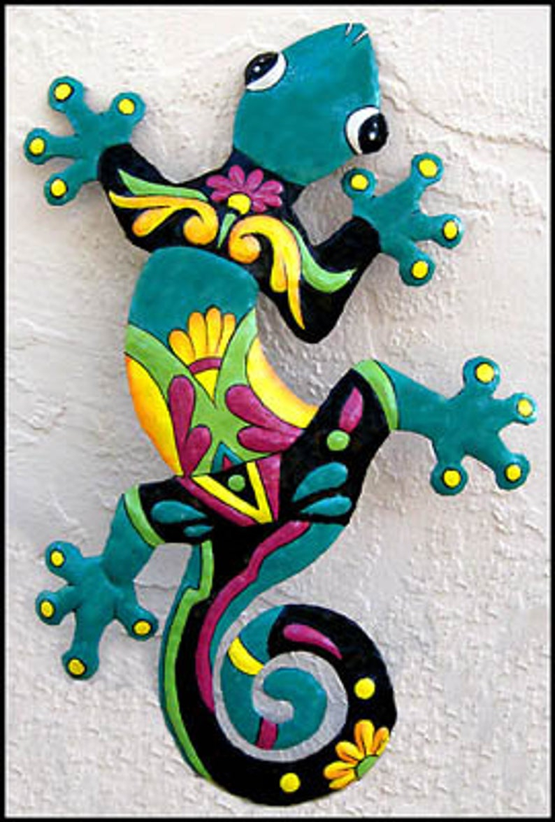 Etsy Pertaining To Gecko Wall Decor (View 4 of 20)