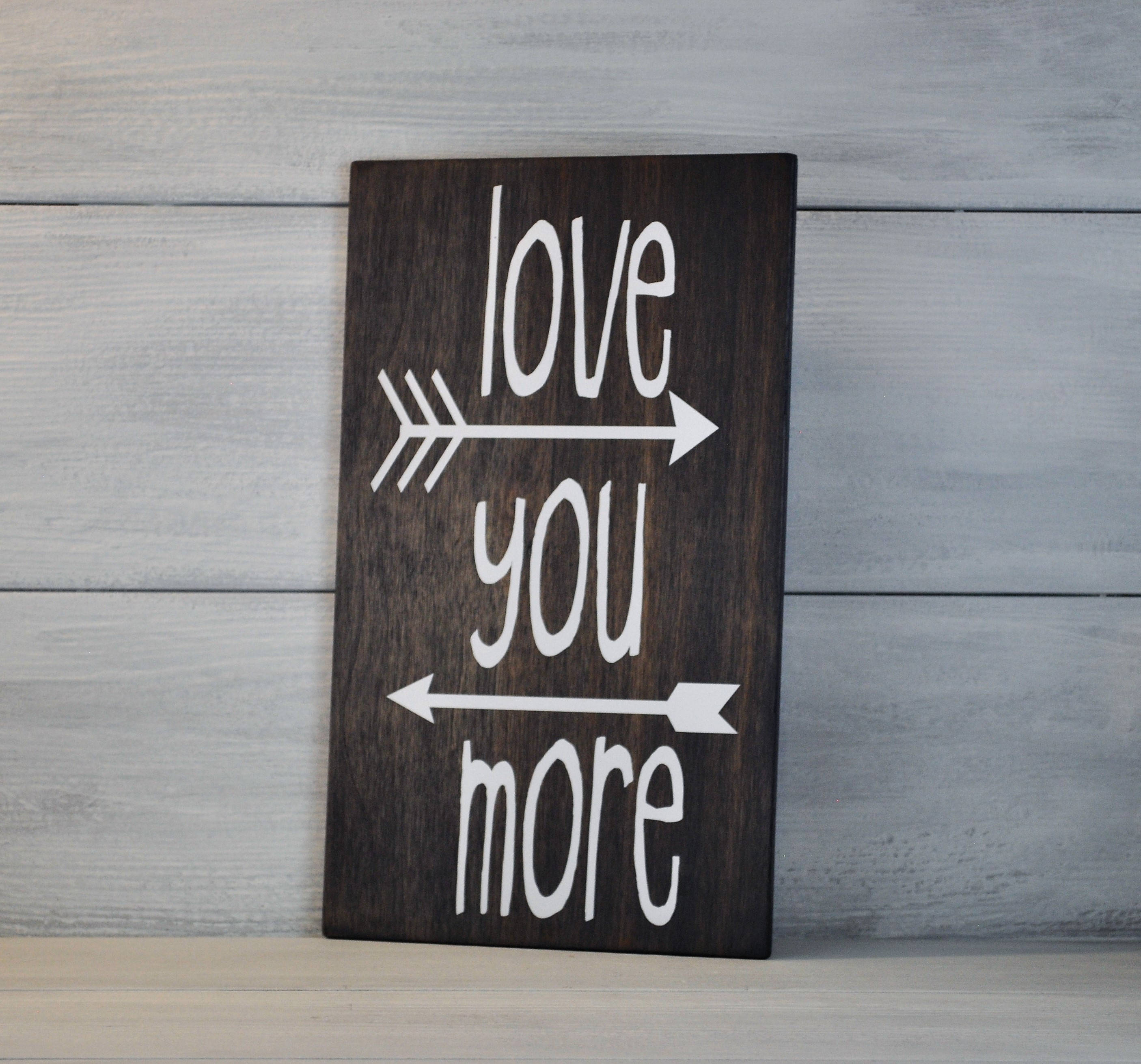 Etsy Throughout 'love You More' Wood Wall Decor (View 9 of 20)