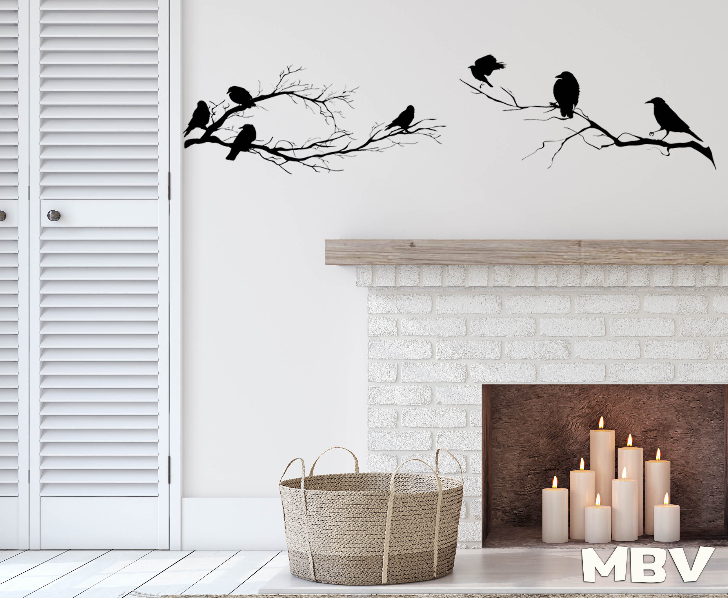 Etsy Throughout Most Current Birds On A Branch Wall Decor (View 10 of 20)