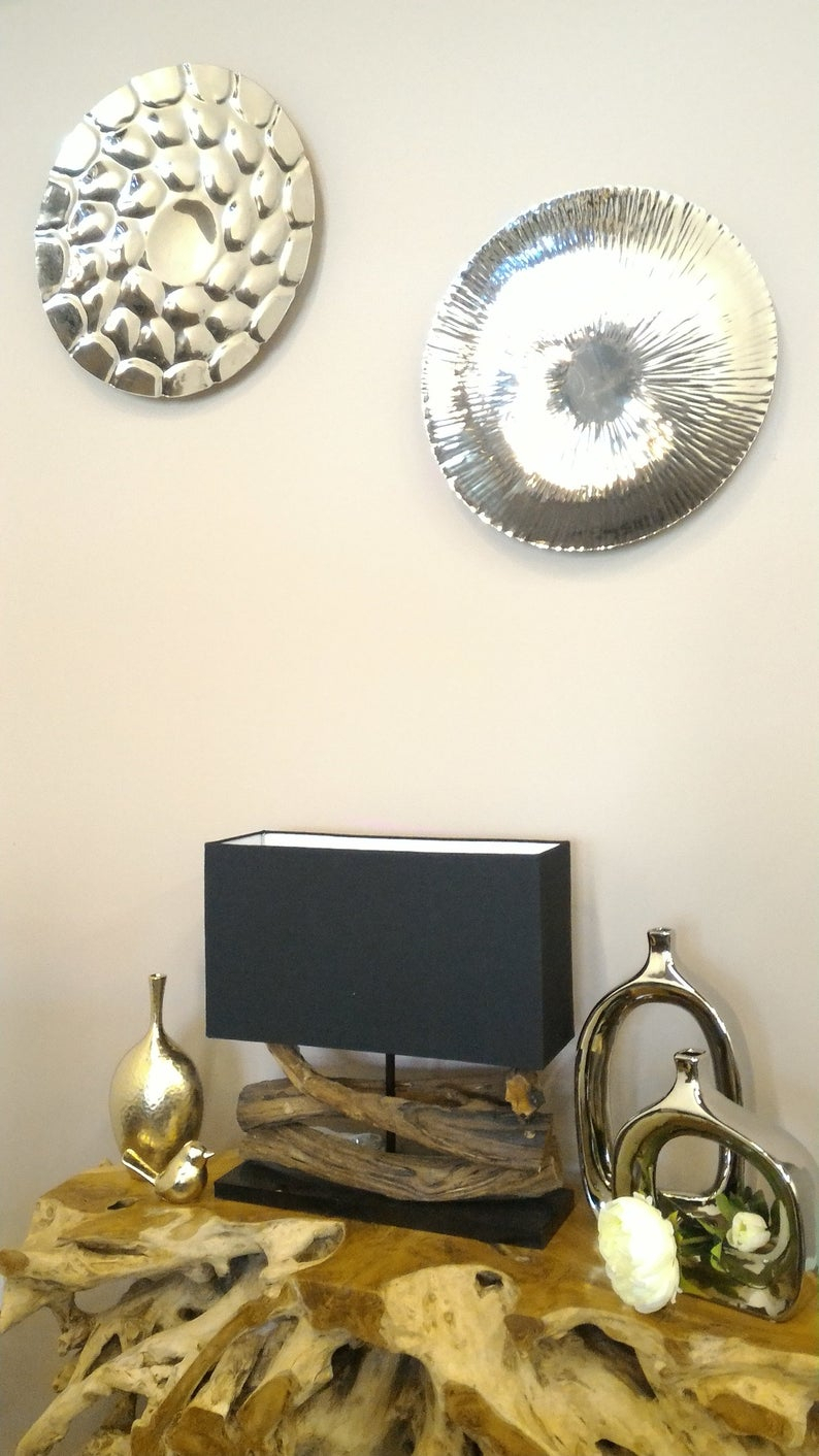 Etsy With Trendy Contemporary Abstract Round Wall Decor (View 12 of 20)