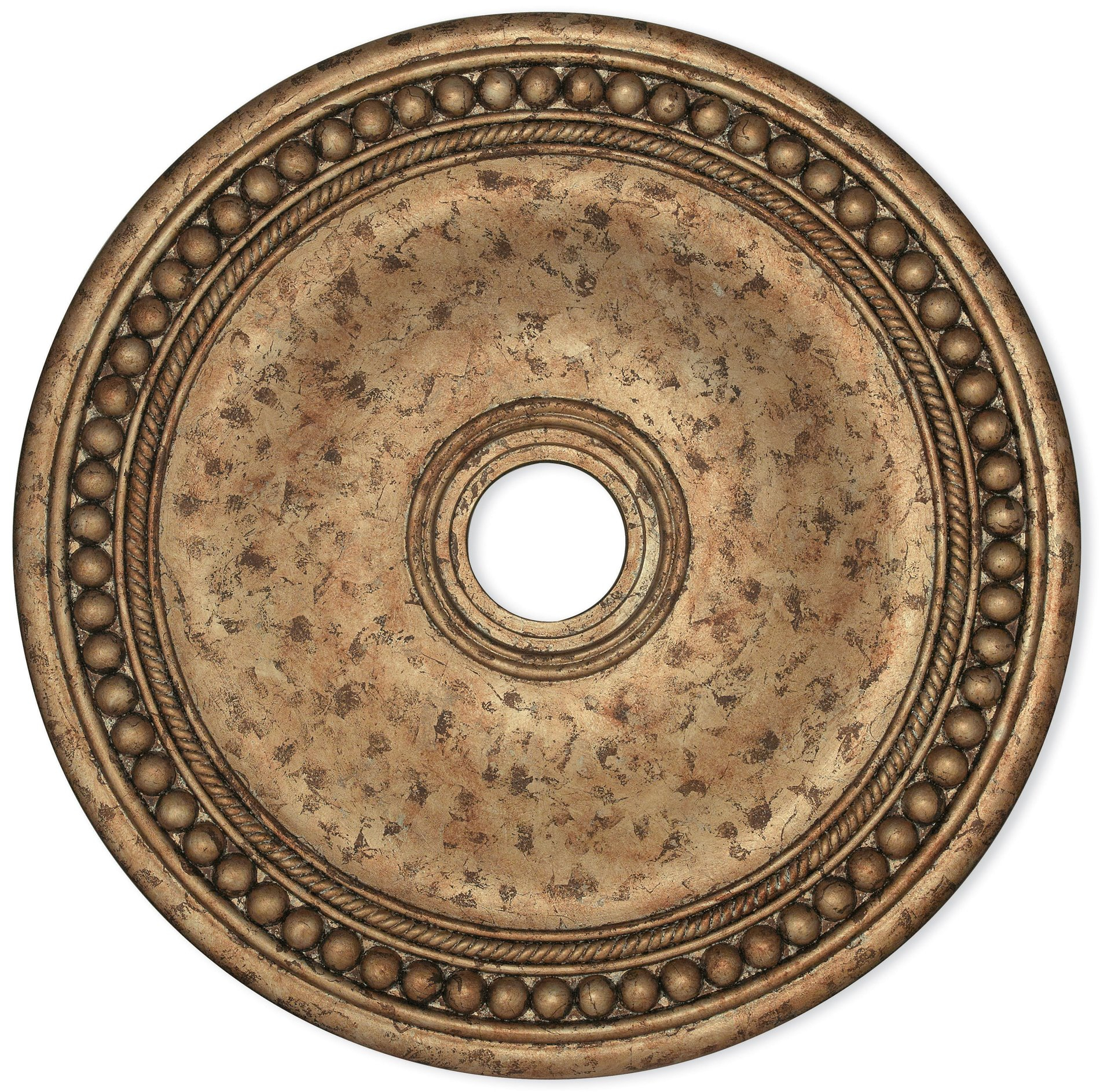 "European Medallion Wall Decor Intended For Widely Used Livex Lighting 82076 36 30"" European Bronze Ceiling Medallion Lvx (View 15 of 20)"