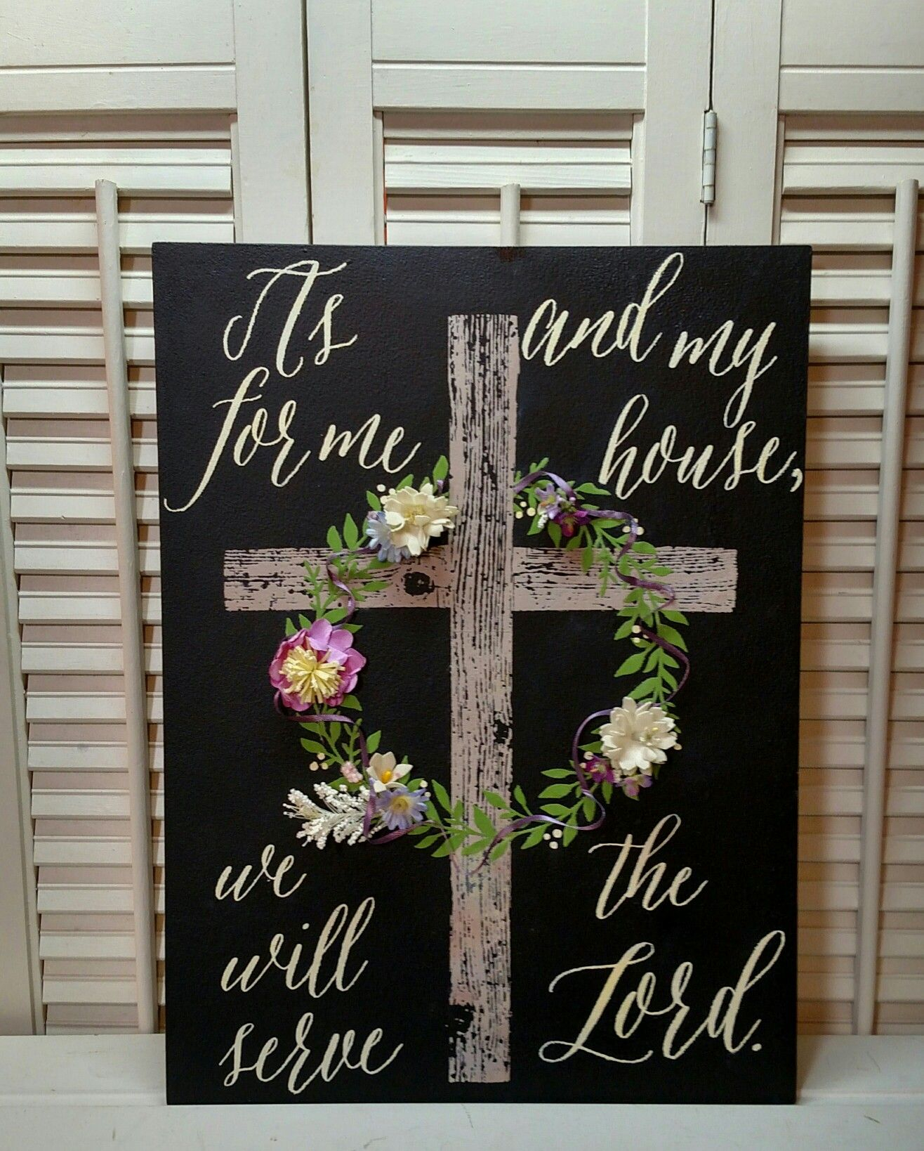 "Faith, Hope, Love Raised Sign Wall Decor Regarding Preferred Cross From ""faith, Hope, Charity"" And Wreath From ""established (View 6 of 20)"