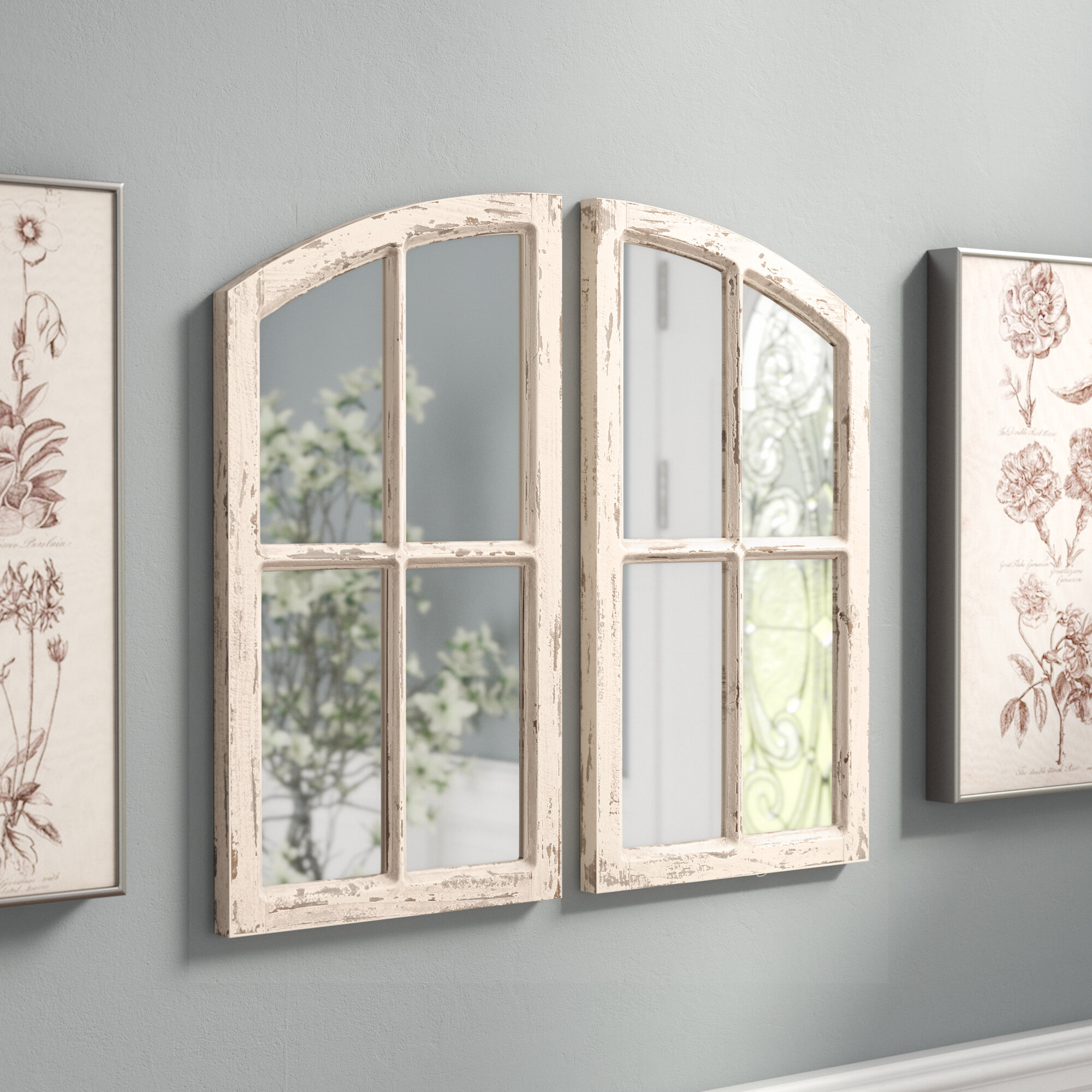 Famous 2 Piece Panel Wood Wall Decor Sets (Set Of 2) Regarding Ophelia & Co (View 4 of 20)